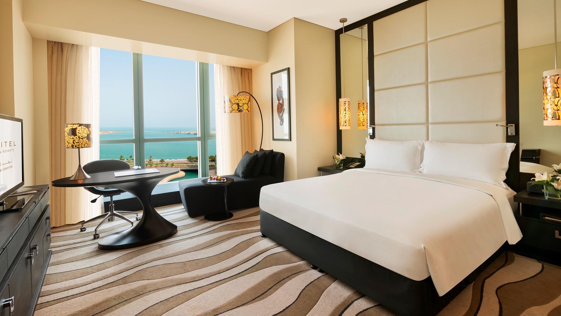 Luxury Room image 1 at Sofitel Abu Dhabi Corniche by null, Abu Dhabi, United Arab Emirates