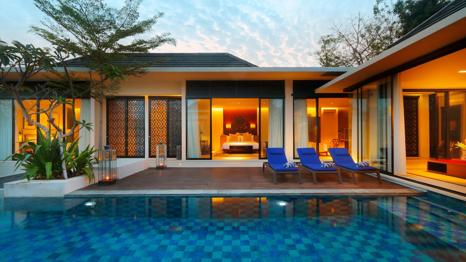 Three Bedroom Duplex Pool Villa image 1 at Vinila Villas by Kabupaten Badung, Bali, Indonesia