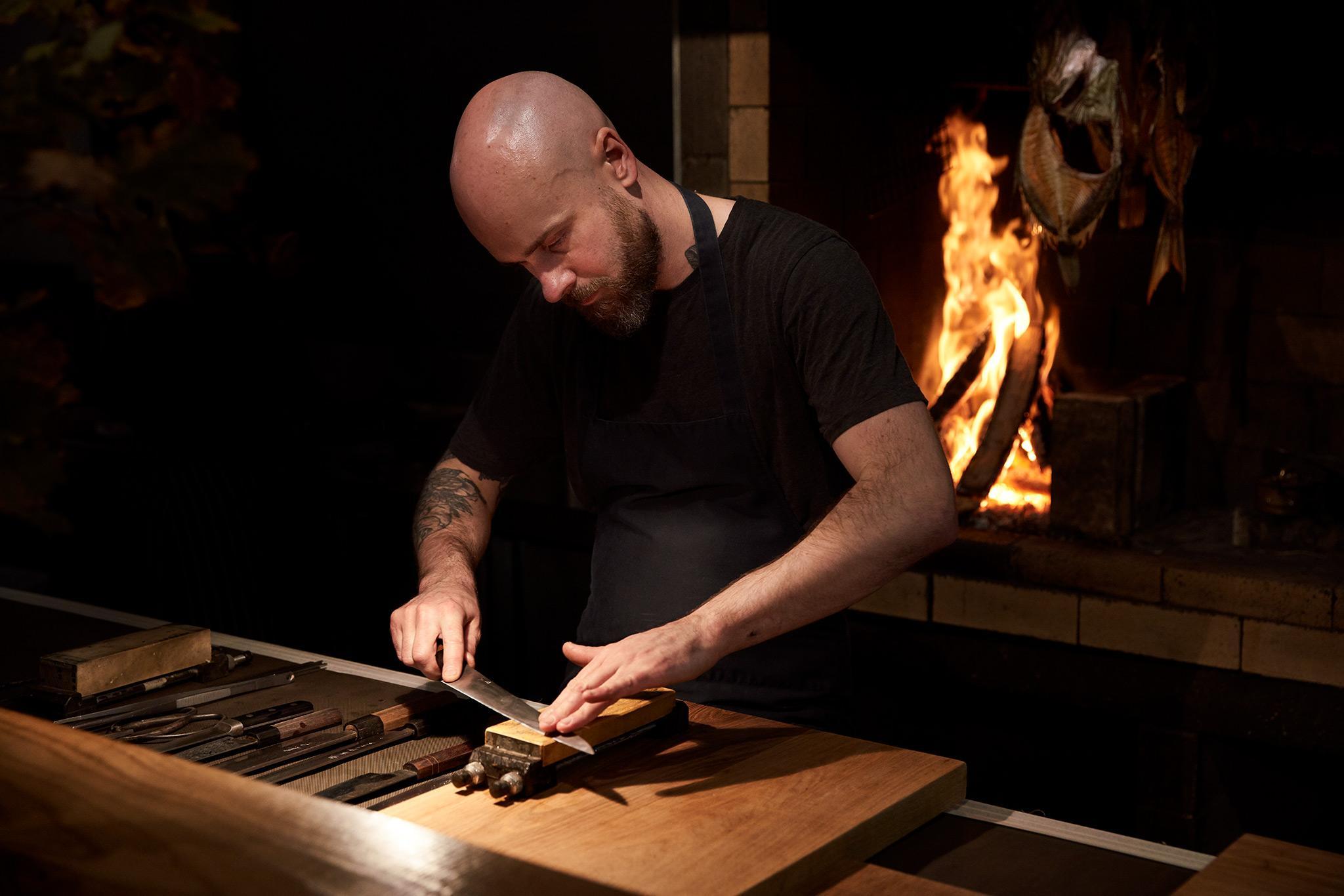 Chef Verner at Pasture