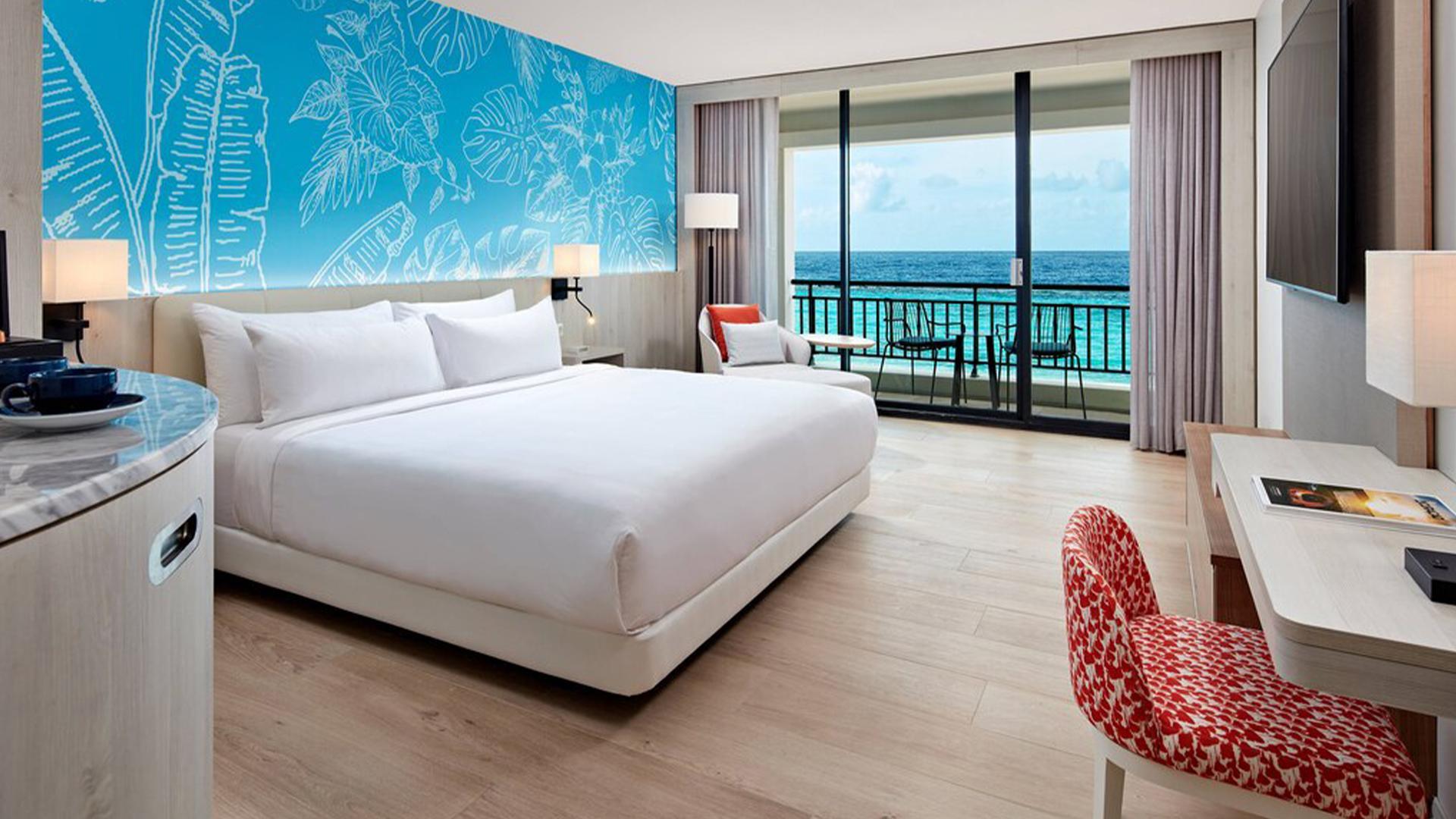 Ocean Front King Room image 1 at Curaçao Marriott Beach Resort by null, Curaçao, Curaçao