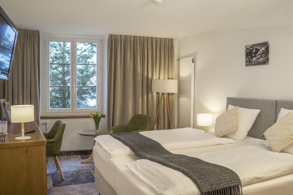 image 1 at Thermalhotels & Walliser Alpentherme Spa by Dorfplatz Leukerbad VS 3954 Switzerland