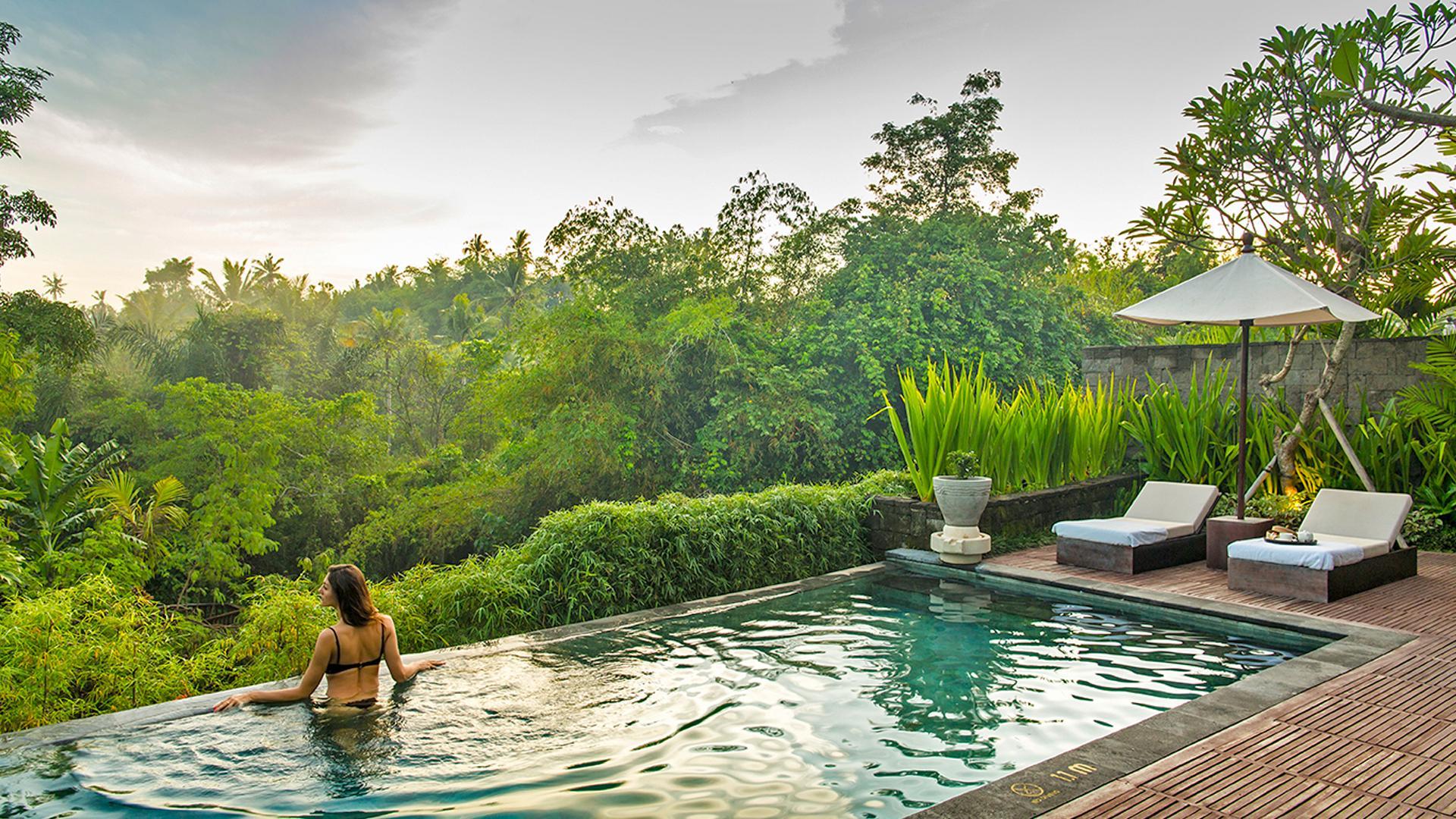 One Bedroom Riverside Pool Villa image 1 at Sanctoo Suites & Villas by Kabupaten Gianyar, Bali, Indonesia