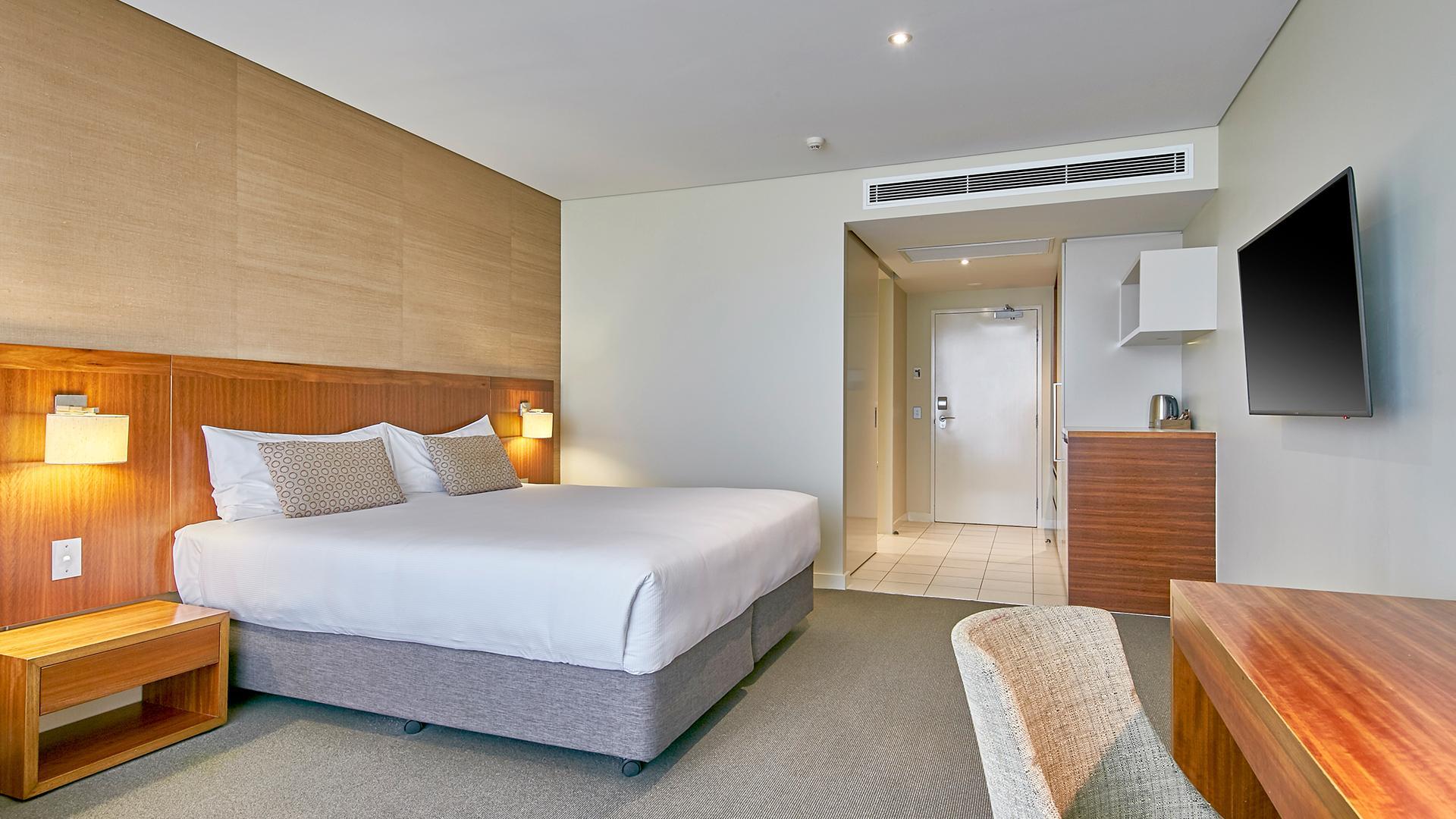 Superior King Room image 1 at The Sebel Mandurah by City of Mandurah, Western Australia, Australia