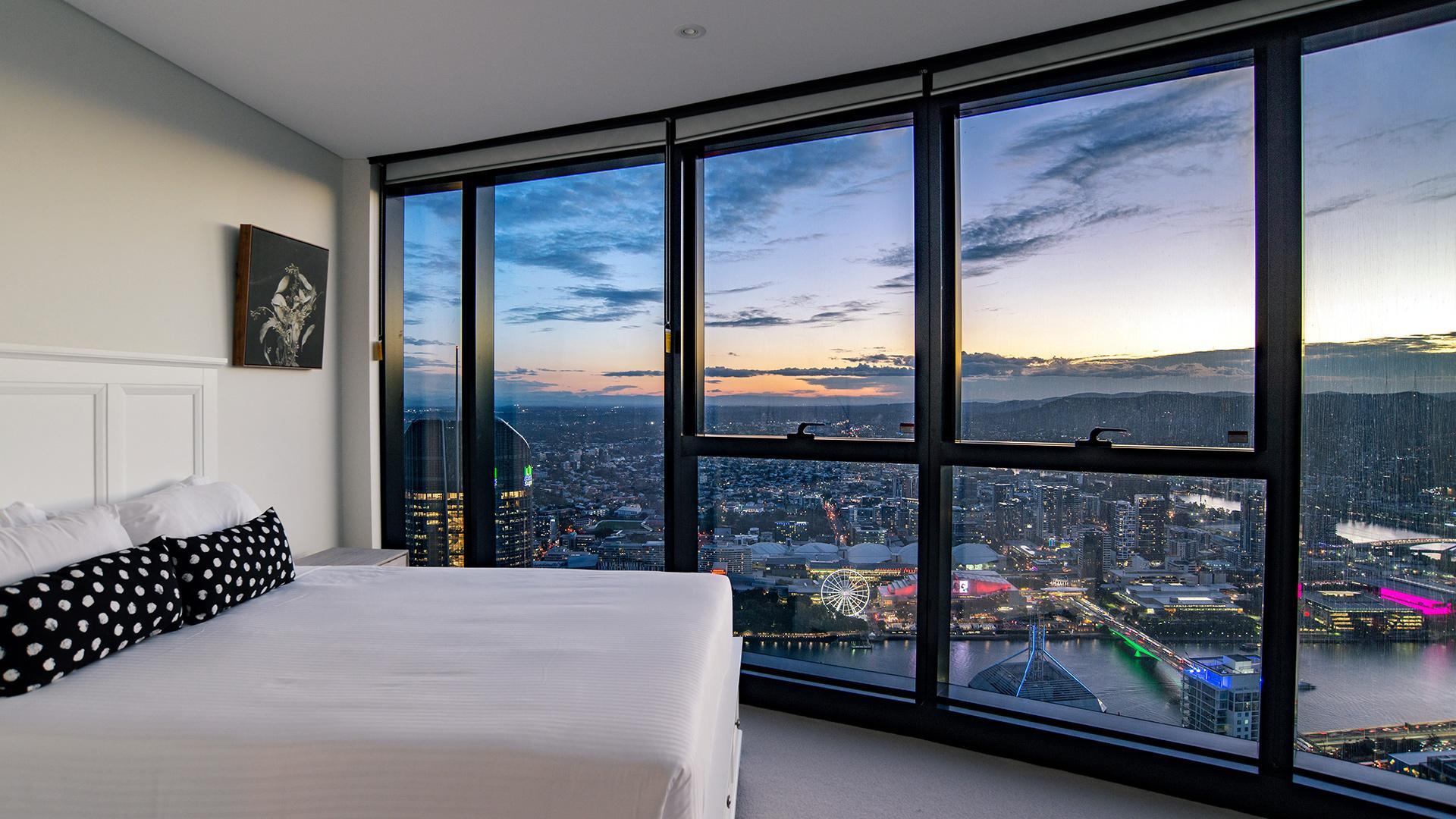 Three-Bedroom Sky High Apartment  image 1 at Arise Brisbane Skytower by Brisbane City, Queensland, Australia