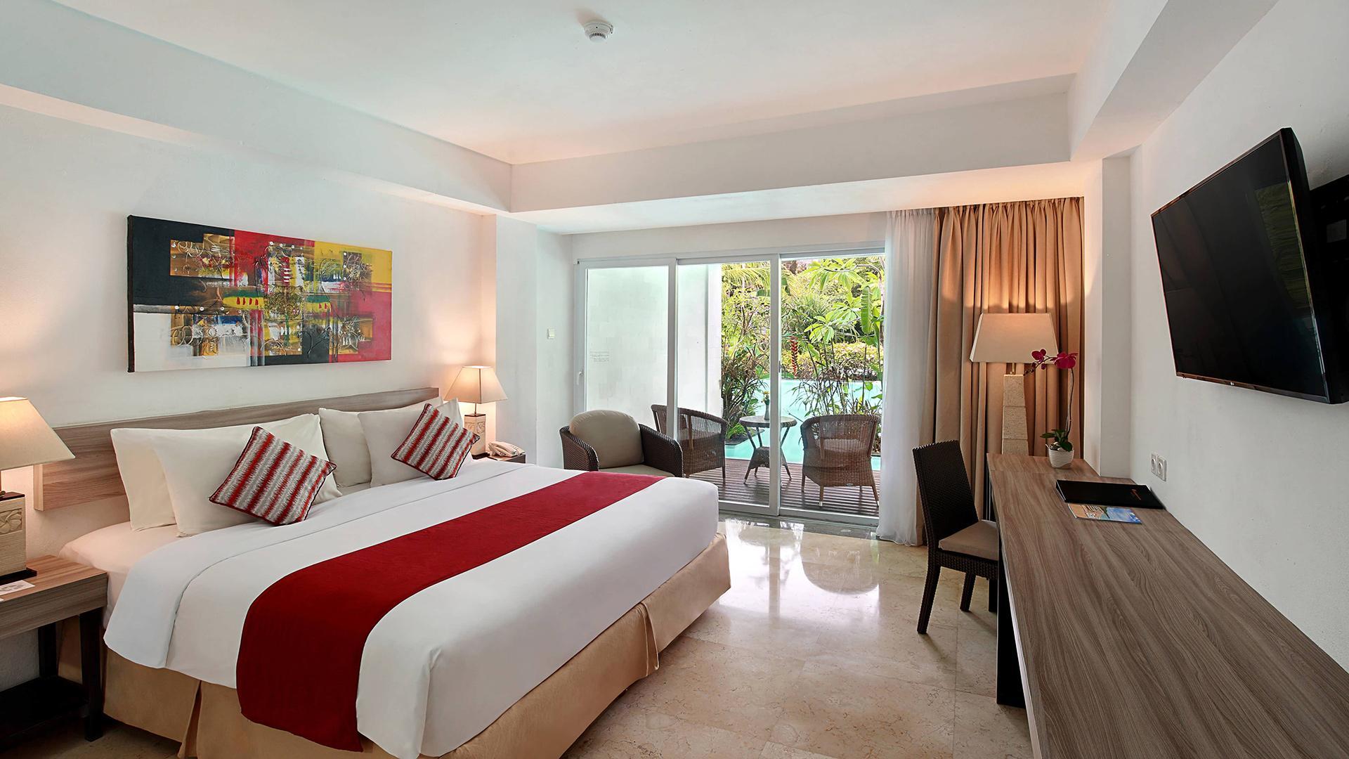 Lagoon Pool Access Room  image 1 at Swiss-Belhotel Segara Nusa Dua by Kabupaten Badung, Bali, Indonesia