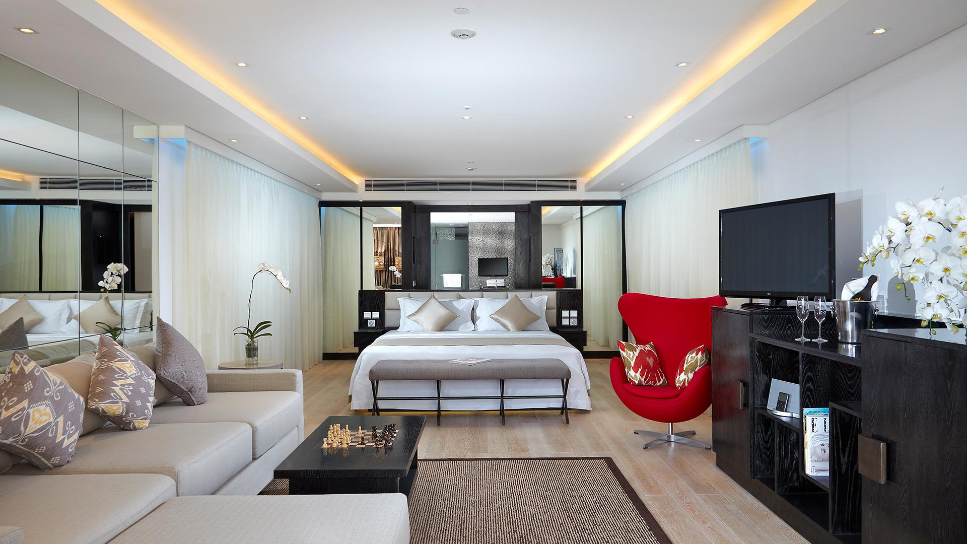 Leisure Suite image 1 at Double-Six Luxury Hotel - July 2019 by Kabupaten Badung, Bali, Indonesia