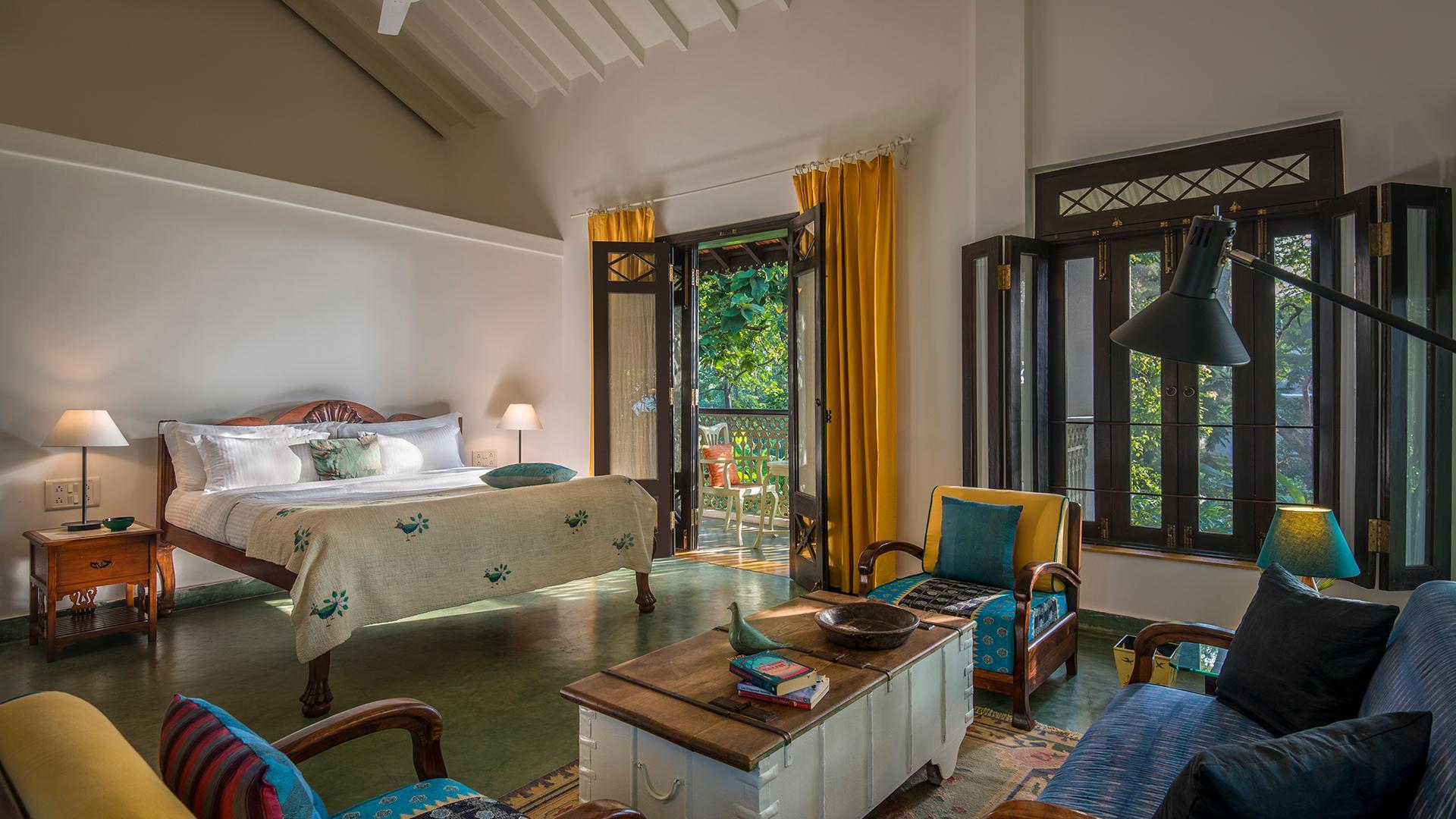 Banyan Room image 1 at The Postcard Velha 2019 by North Goa, Goa, India