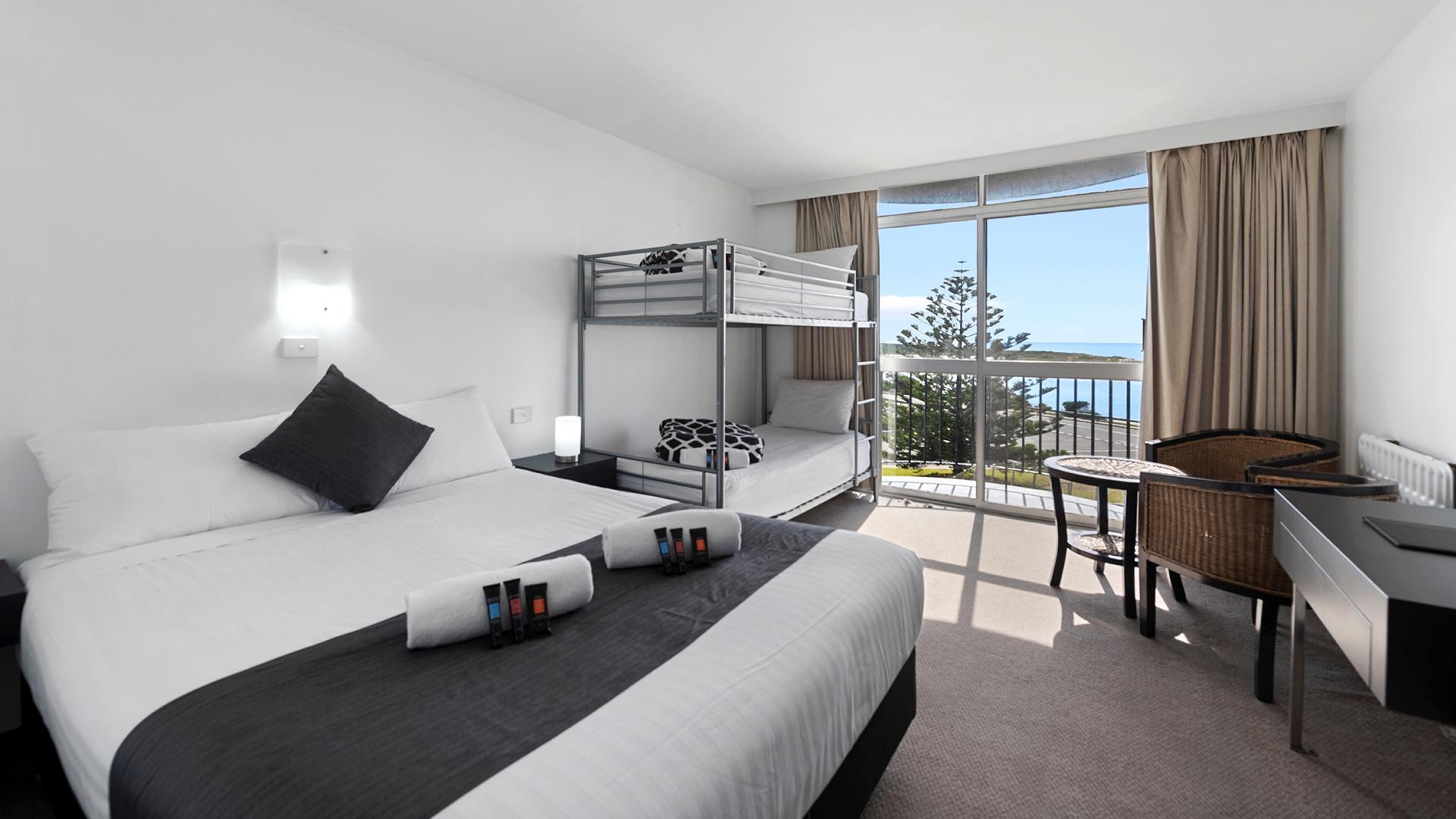 Family Room image 1 at Scamander Beach Resort by Break O'Day Council, Tasmania, Australia