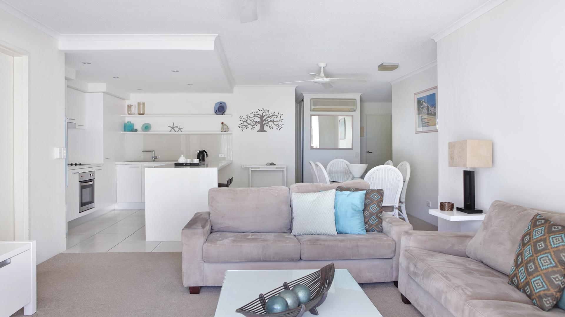 Three-Bedroom Apartment  image 1 at Macquarie Lodge Apartments by Noosa Shire, Queensland, Australia