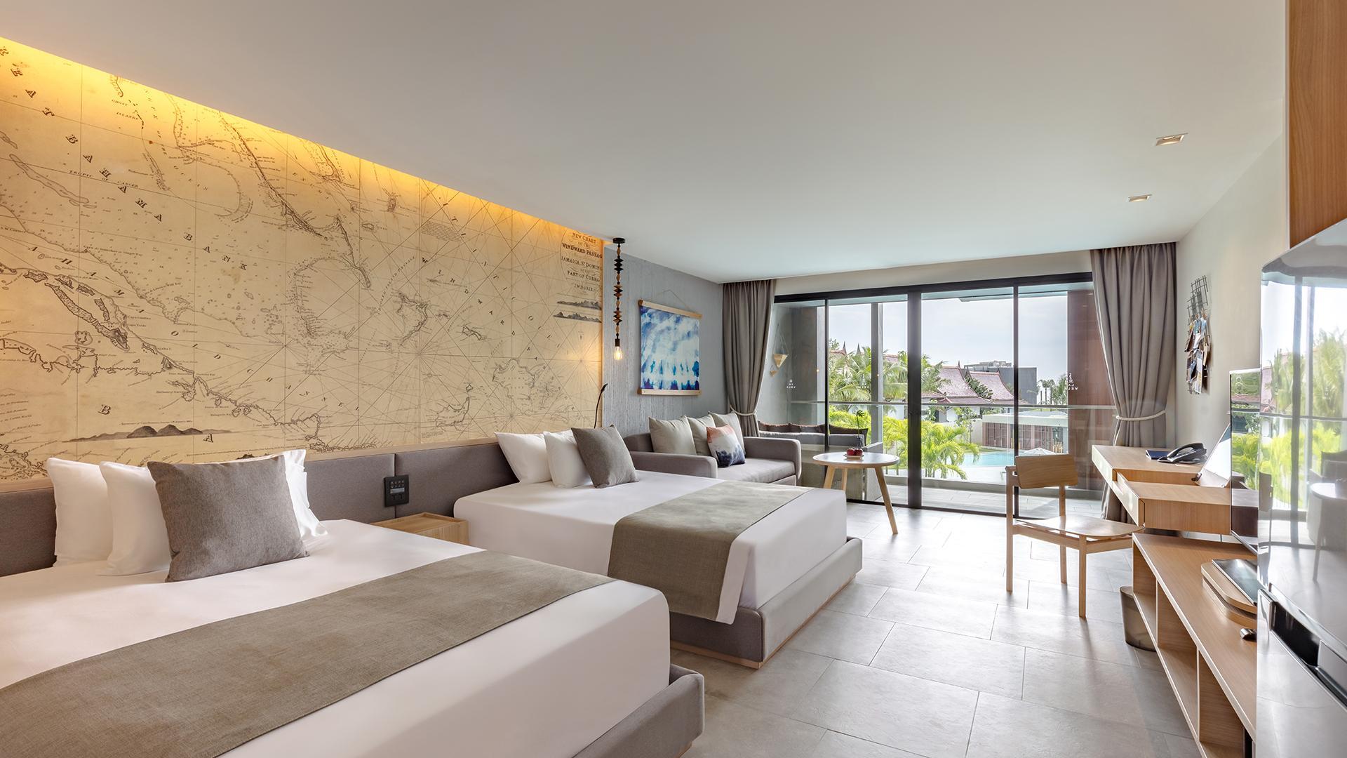 Deluxe Poolside Room image 1 at La Vela Khao Lak by Amphoe Takua Pa, Chang Wat Phang-nga, Thailand
