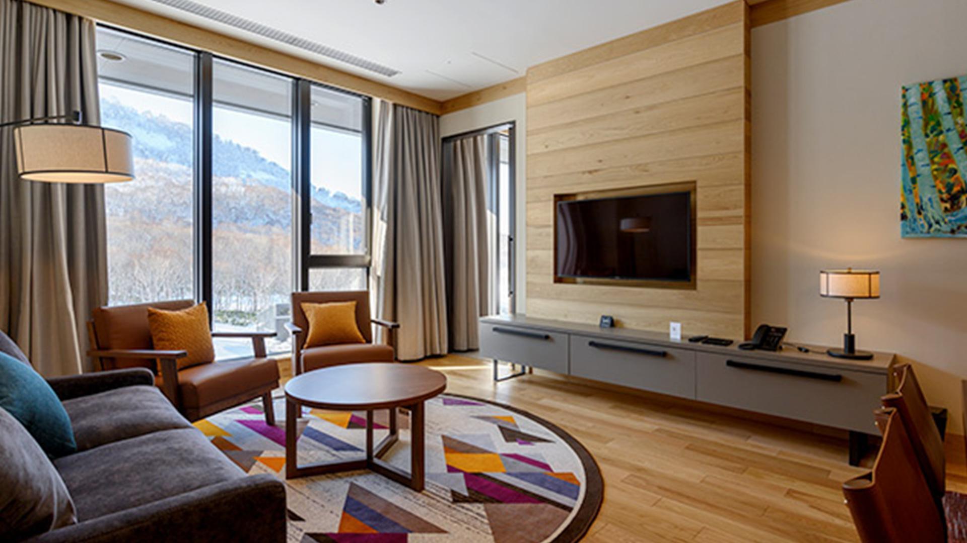 Two-Bedroom Suite image 1 at Yu Kiroro by Yoichi District, Hokkaido, Japan