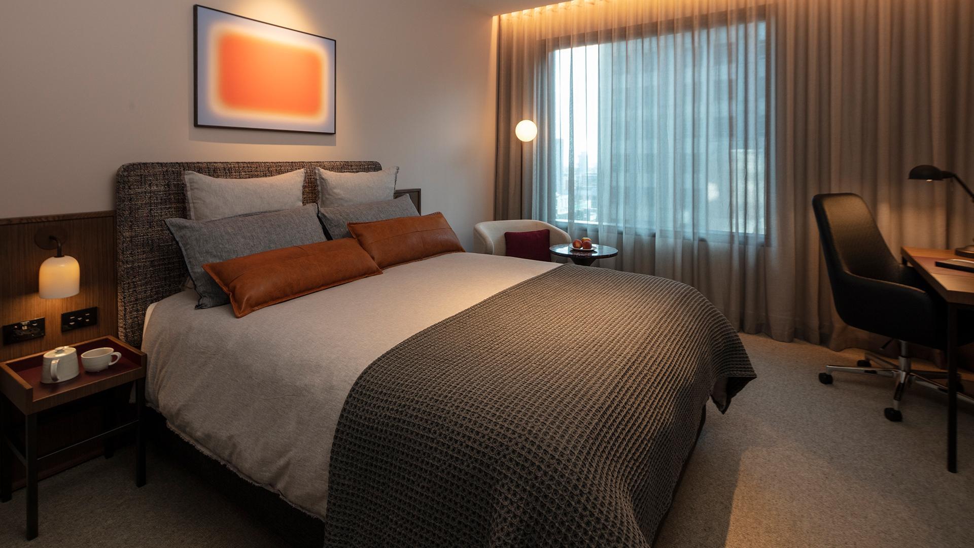 Next Level King Room image 1 at Next Hotel Melbourne by Melbourne City, Victoria, Australia