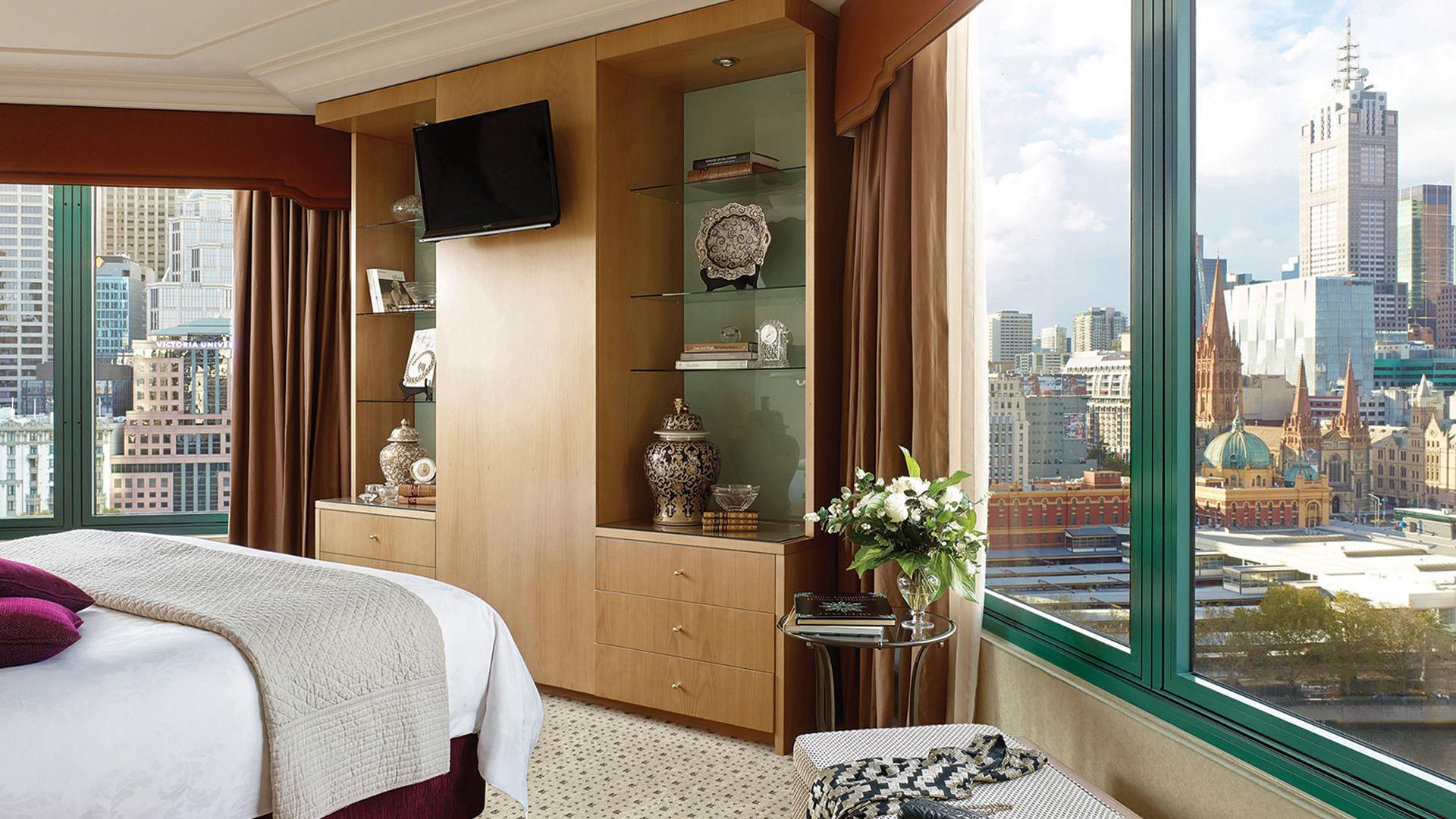 One Bedroom Suite image 1 at The Langham Melbourne by Melbourne City, Victoria, Australia