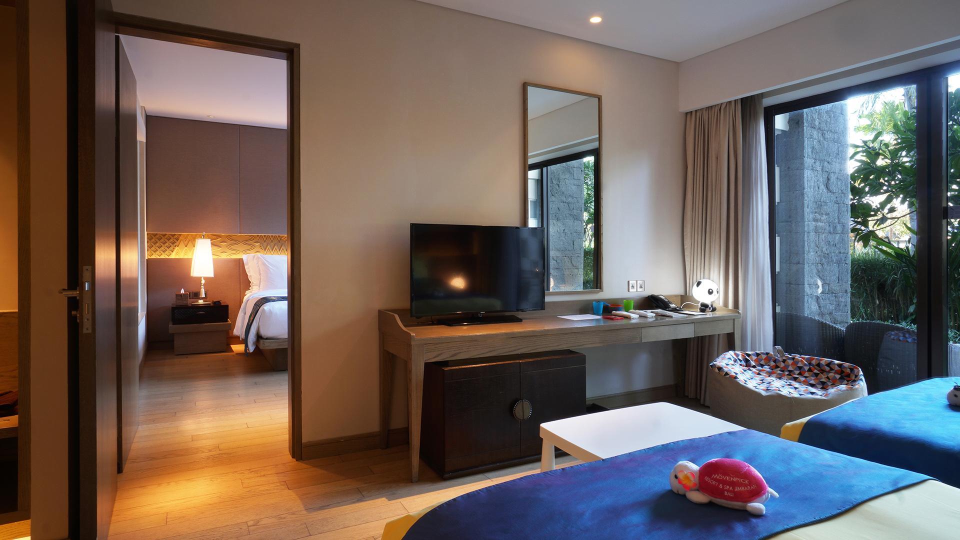 Interconnecting Classic Rooms image 1 at Mövenpick Resort & Spa Jimbaran Bali by Kabupaten Badung, Bali, Indonesia