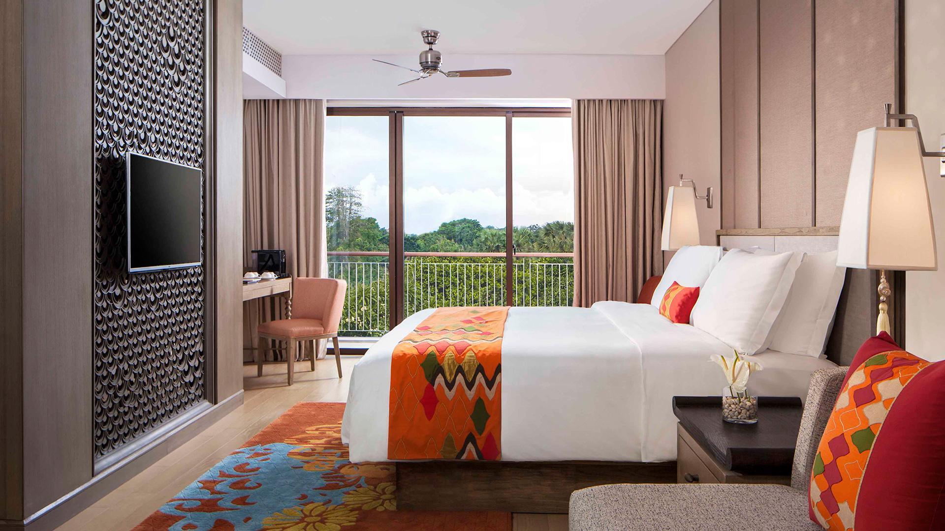 Junior Suite image 1 at Mövenpick Resort & Spa Jimbaran Bali by Kabupaten Badung, Bali, Indonesia