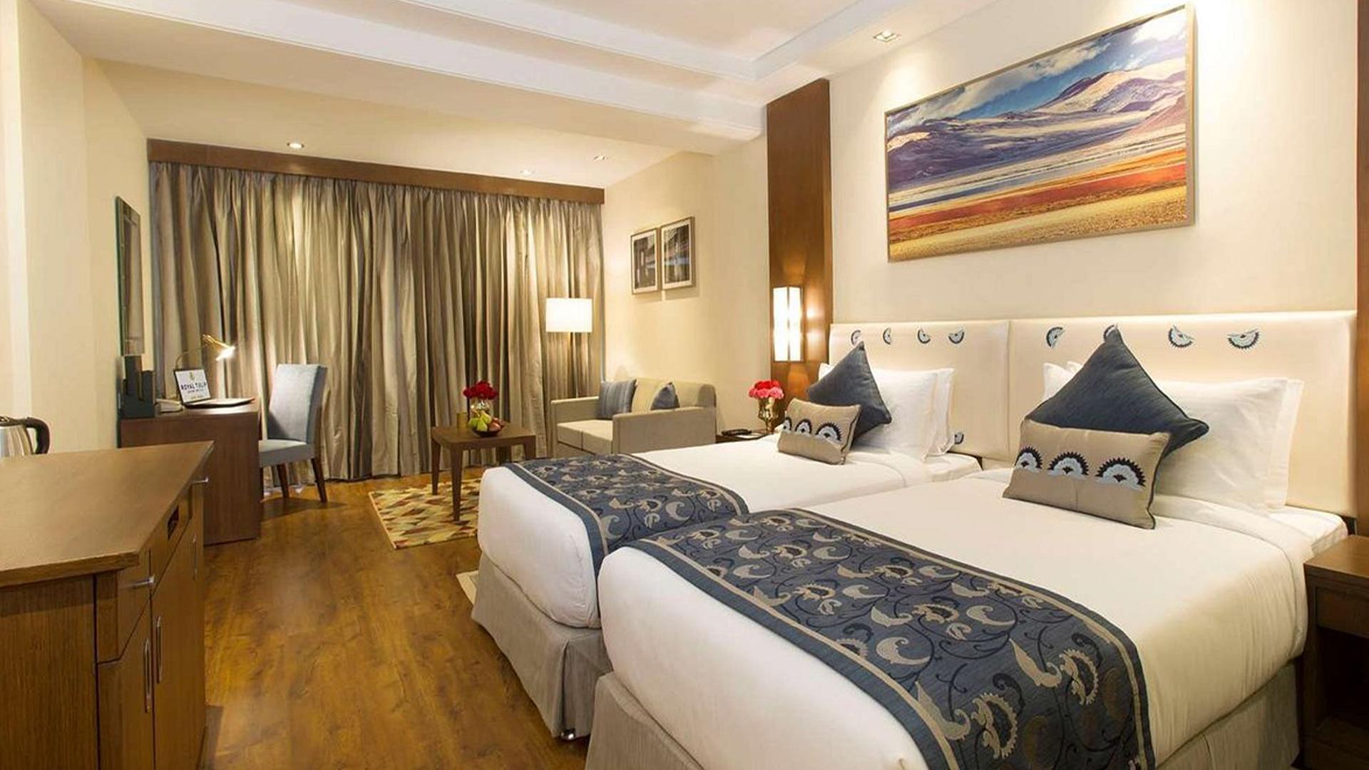 Premium Room image 1 at Royal Tulip Shimla, Kufri Hills by Shimla, Himachal Pradesh, India
