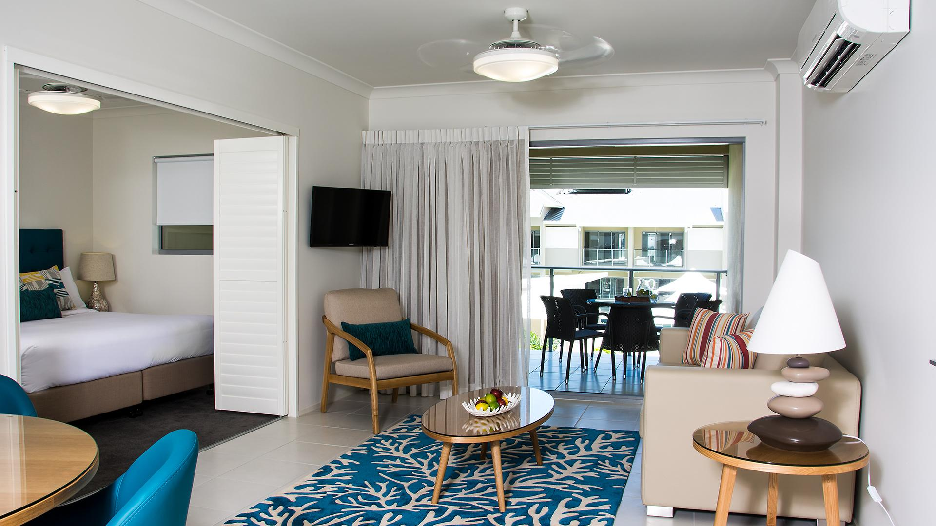 One-Bedroom Apartment — Pool View image 1 at 1770 Lagoons Central Apartment Resort by Gladstone Regional, Queensland, Australia