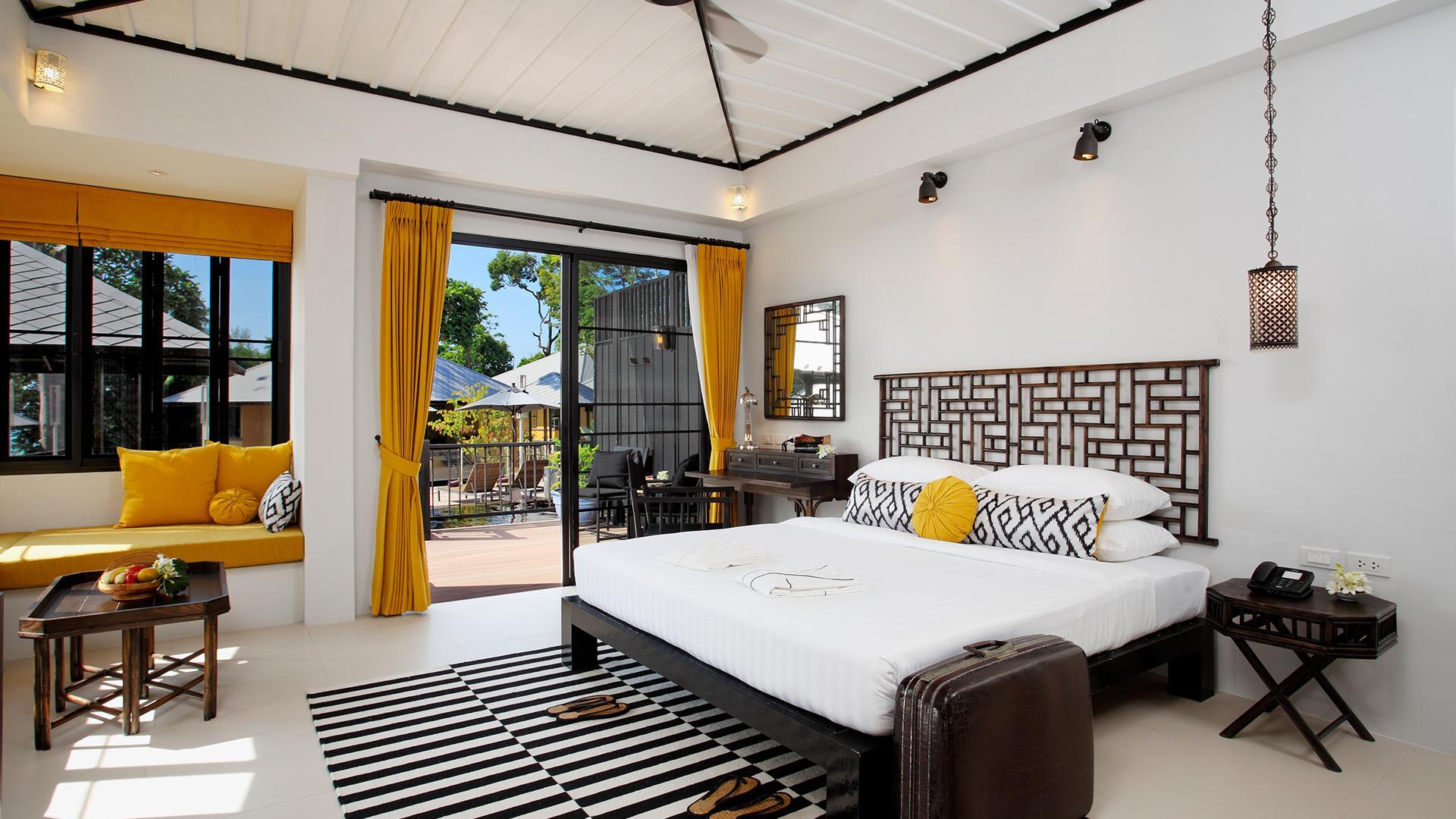 Hibiscus Pool Access image 1 at Moracea by Khao Lak Resort by Amphoe Takua Pa, Chang Wat Phang-nga, Thailand