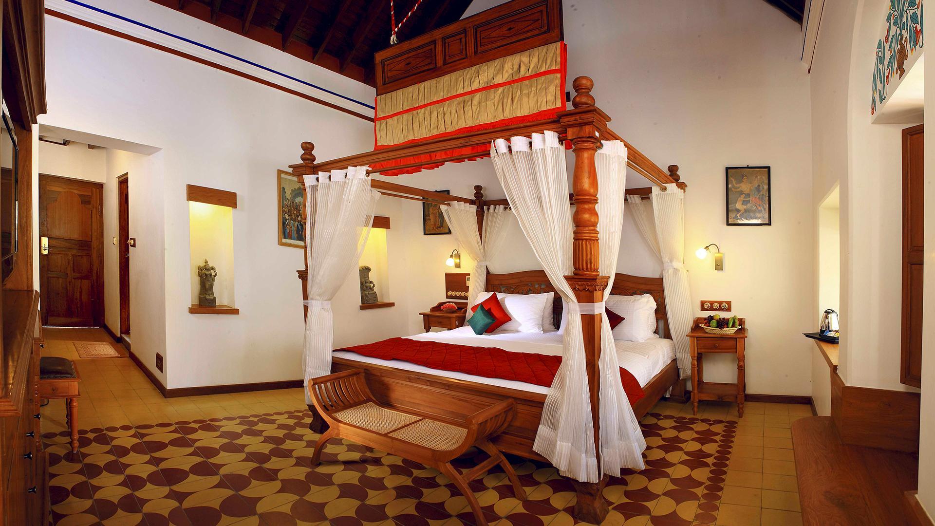 Heritage Double Room image 1 at Chidambara Vilas by Pudukkottai, Tamil Nadu, India