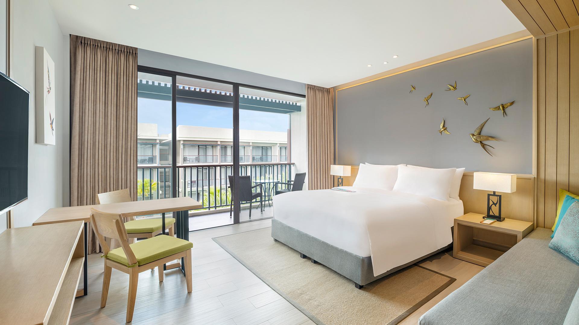Superior Pool View Room image 1 at Le Méridien Khao Lak Resort & Spa by Amphoe Takua Pa, Chang Wat Phang-nga, Thailand