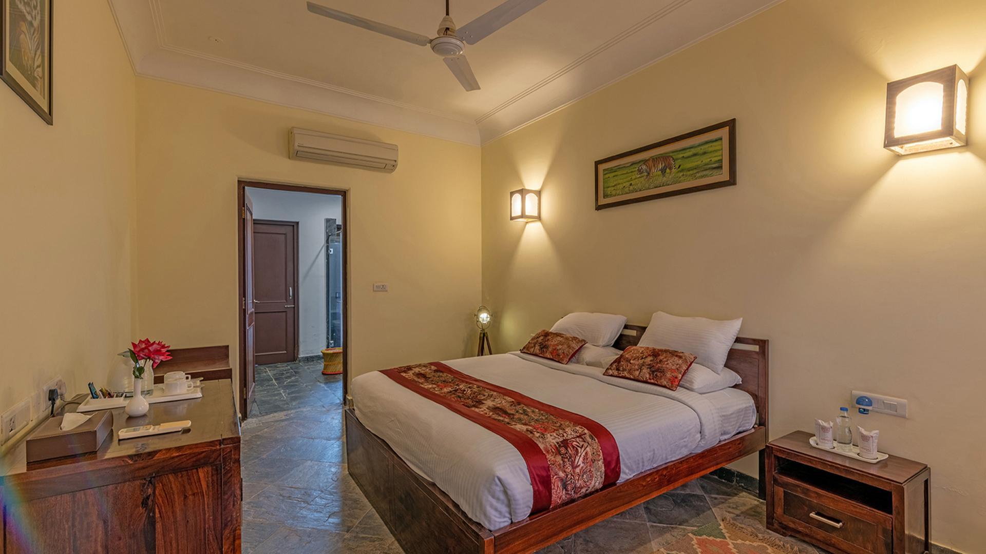 Deluxe Room image 1 at Ranthambhore Kothi by Sawai Madhopur, Rajasthan, India