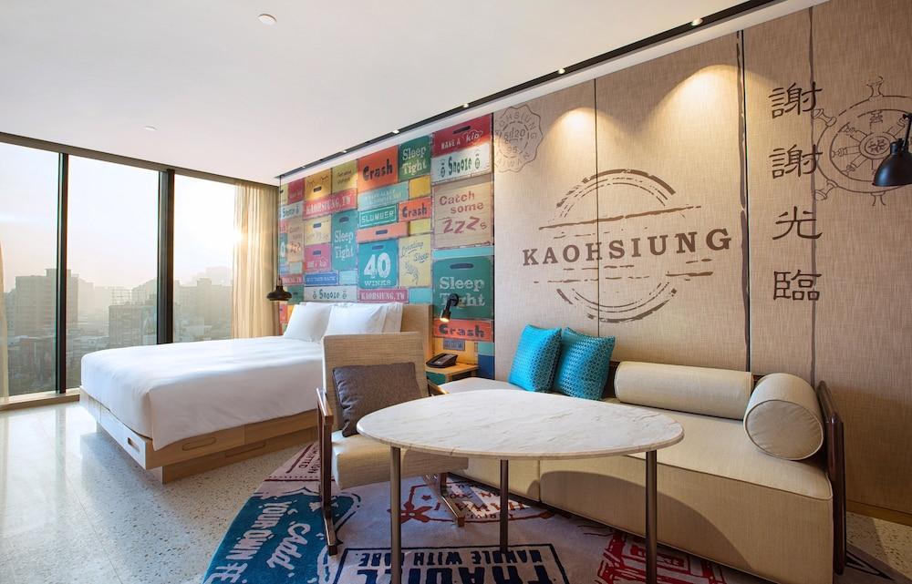 image 1 at Hotel Indigo Kaohsiung Central Park, an IHG Hotel by No. 4 Zhongshan 1st Road Xinxing District Kaohsiung 800 Taiwan