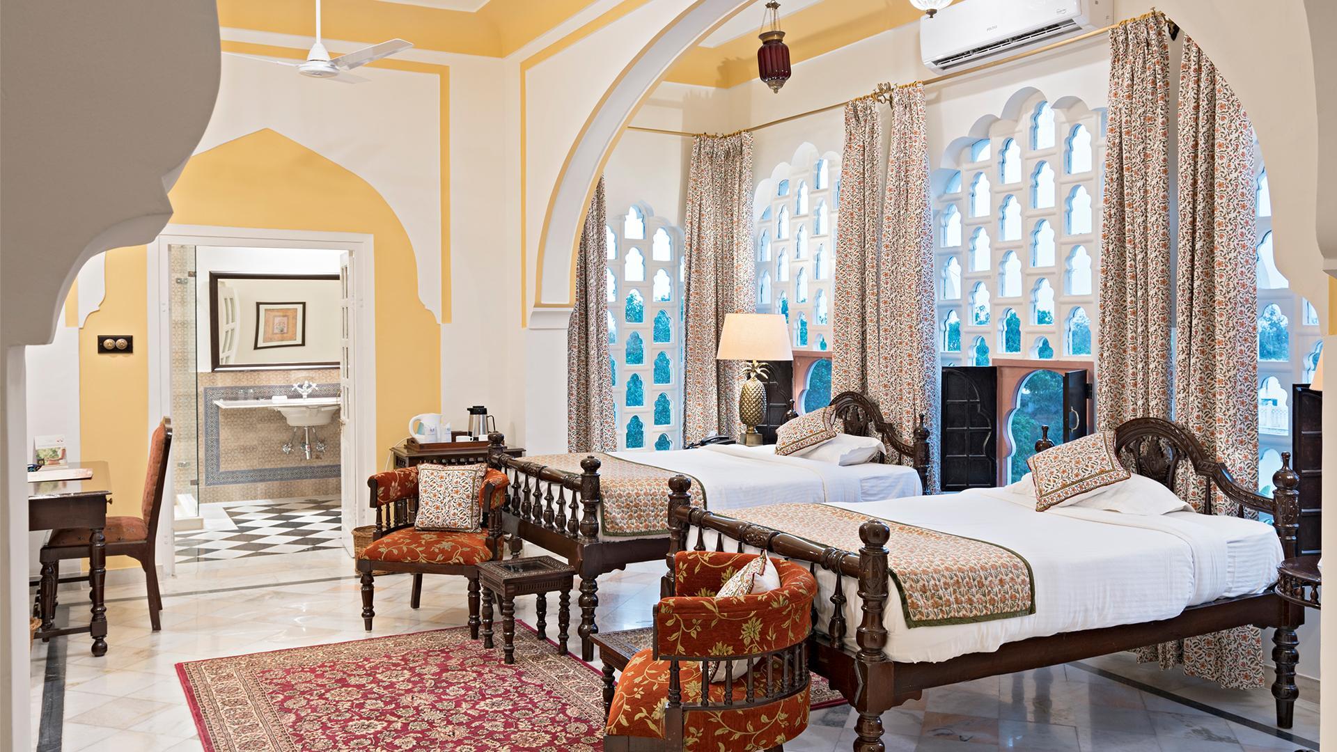 Deluxe Room image 1 at Nahargarh Ranthambhore by Sawai Madhopur, Rajasthan, India