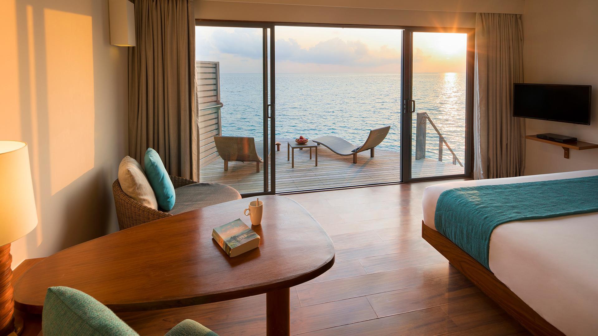 Deluxe Sunset Water Villa image 1 at Centara Ras Fushi Resort & Spa Maldives by Kaafu Atoll, null, Maldives
