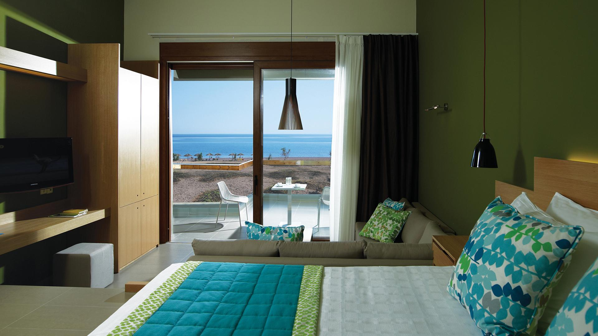 Superior Sea View Room image 1 at Thalatta Seaside Hotel by , , null