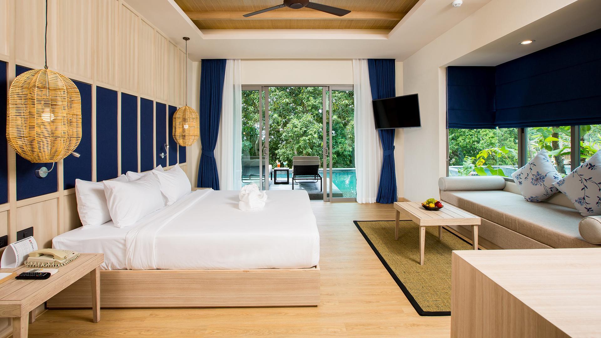 Aqua Deluxe Pool Access Room image 1 at Mandarava Resort and Spa Karon Beach by Amphoe Mueang Phuket, Chang Wat Phuket, Thailand