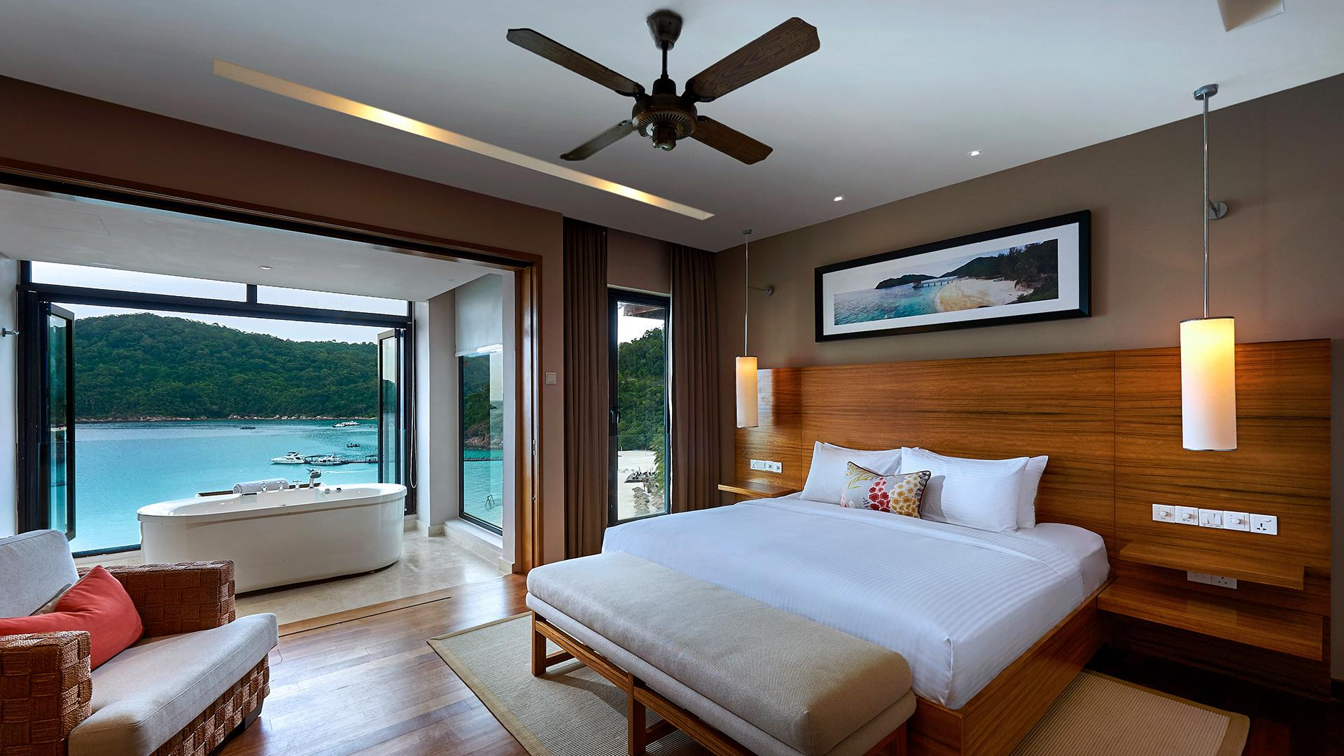 Cliff Bay Suite image 1 at The Taaras Beach & Spa Resort by null, Terengganu, Malaysia