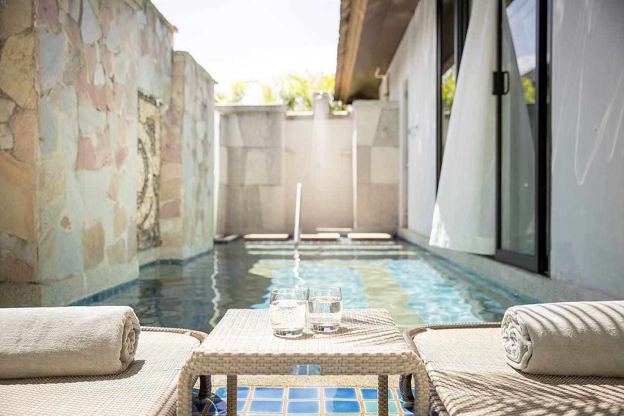 Pool Bungalow image 1 at Robinson Club Khao Lak - May 2019 by Amphoe Takua Pa, Chang Wat Phang-nga, Thailand