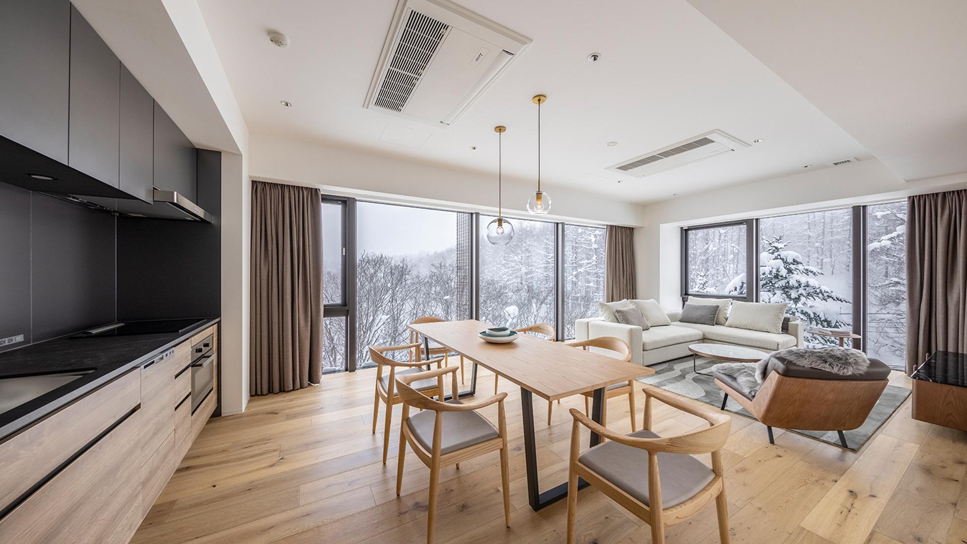 One-Bedroom Premier Apartment image 1 at Intuition Niseko by Abuta District, Hokkaido, Japan