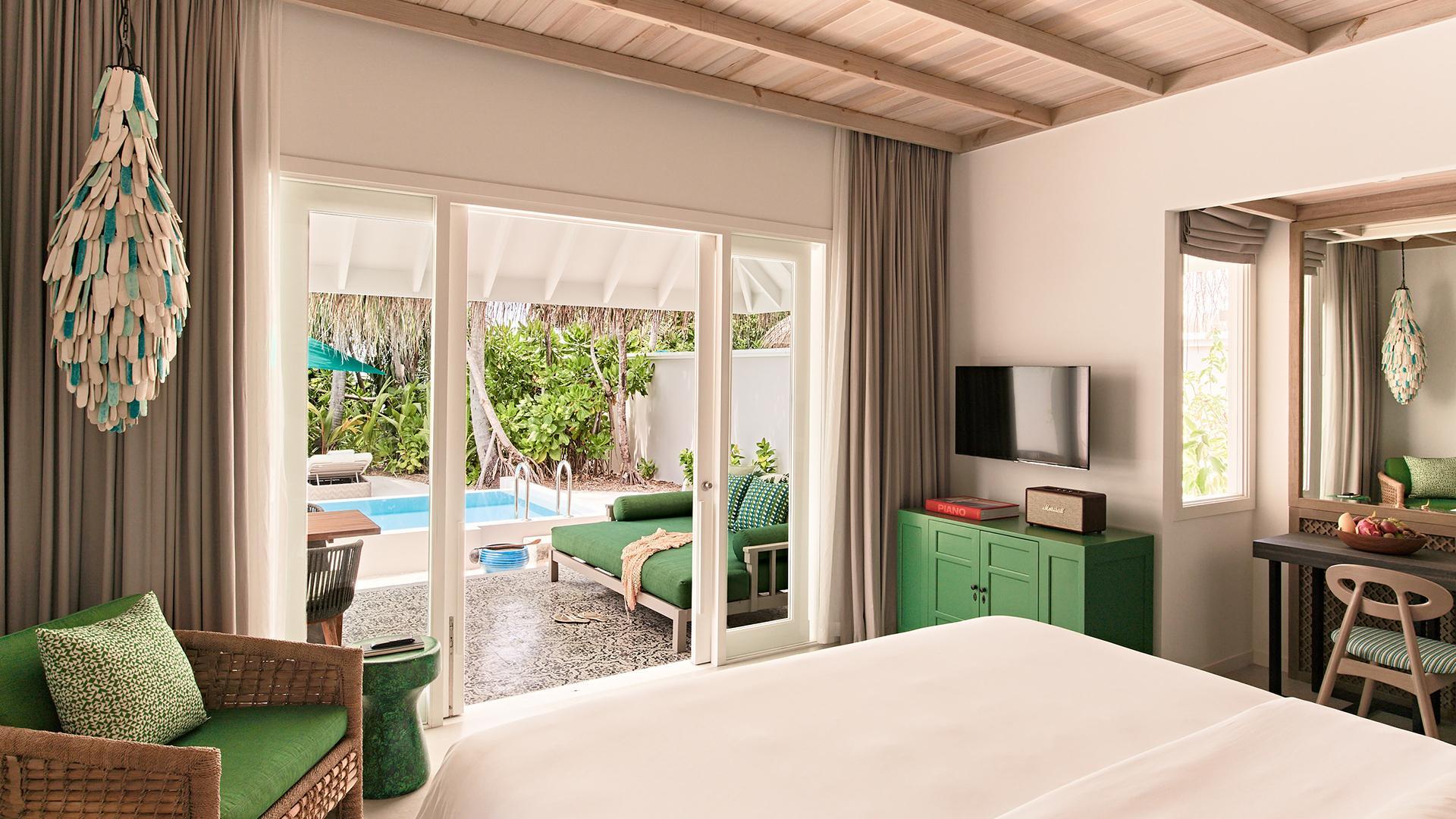 Private Pool Villa image 1 at Seaside Finolhu Maldives by Baa Atoll, North Province, Maldives