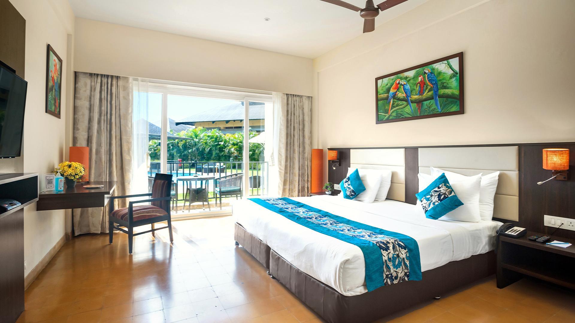 Magnolia Room image 1 at Tropical Retreat Luxury Resort & Spa by Nashik, Maharashtra, India