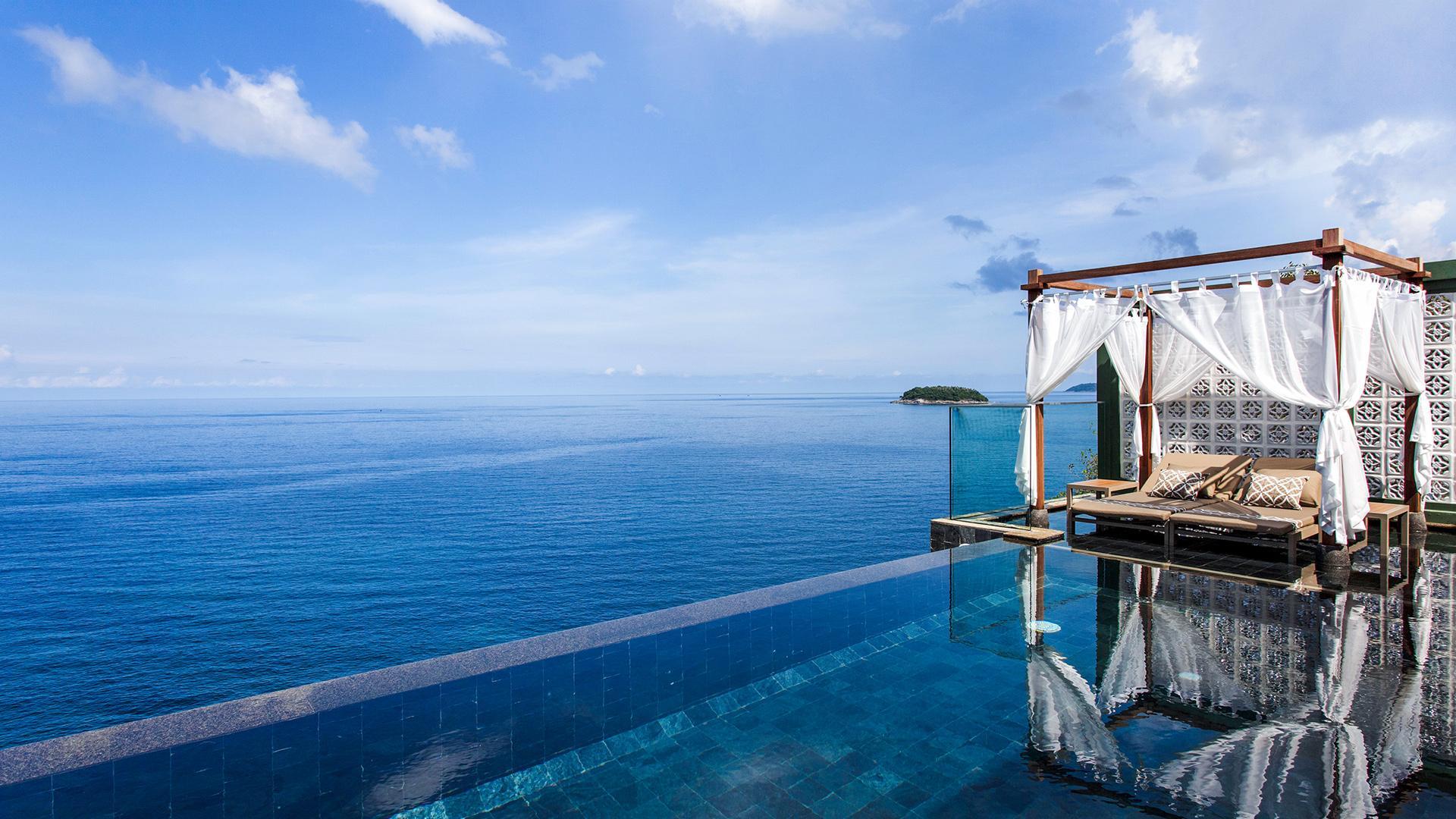 Seaview Pool Villa Inlove image 1 at The Shore at Katathani by Amphoe Mueang Phuket, Chang Wat Phuket, Thailand