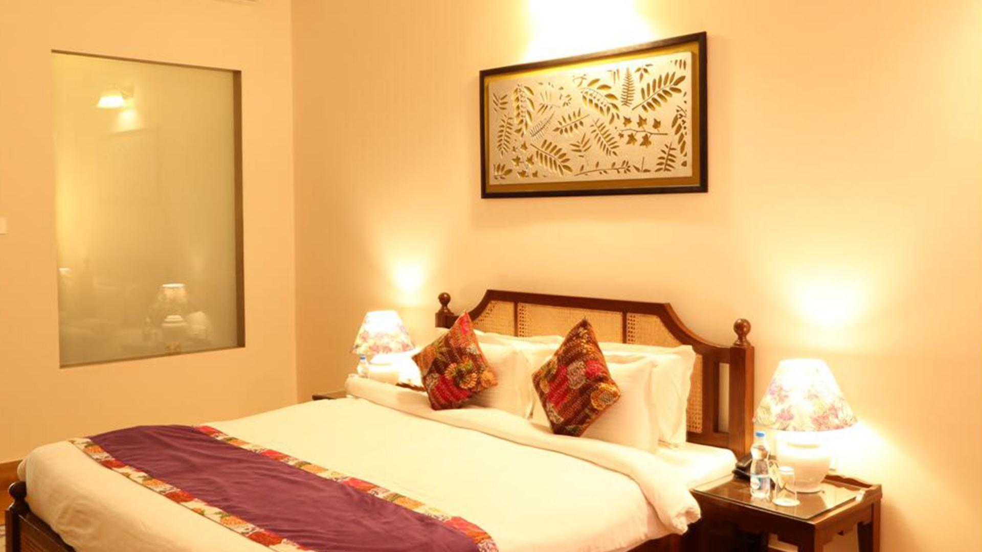 Standard Hideaway Room image 1 at Tree of Life Resort Udaipur OLD by Udaipur, Rajasthan, India