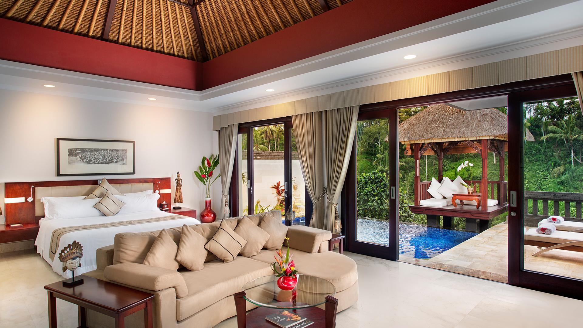 Deluxe Terrace Villa image 1 at Viceroy Bali by Kabupaten Gianyar, Bali, Indonesia