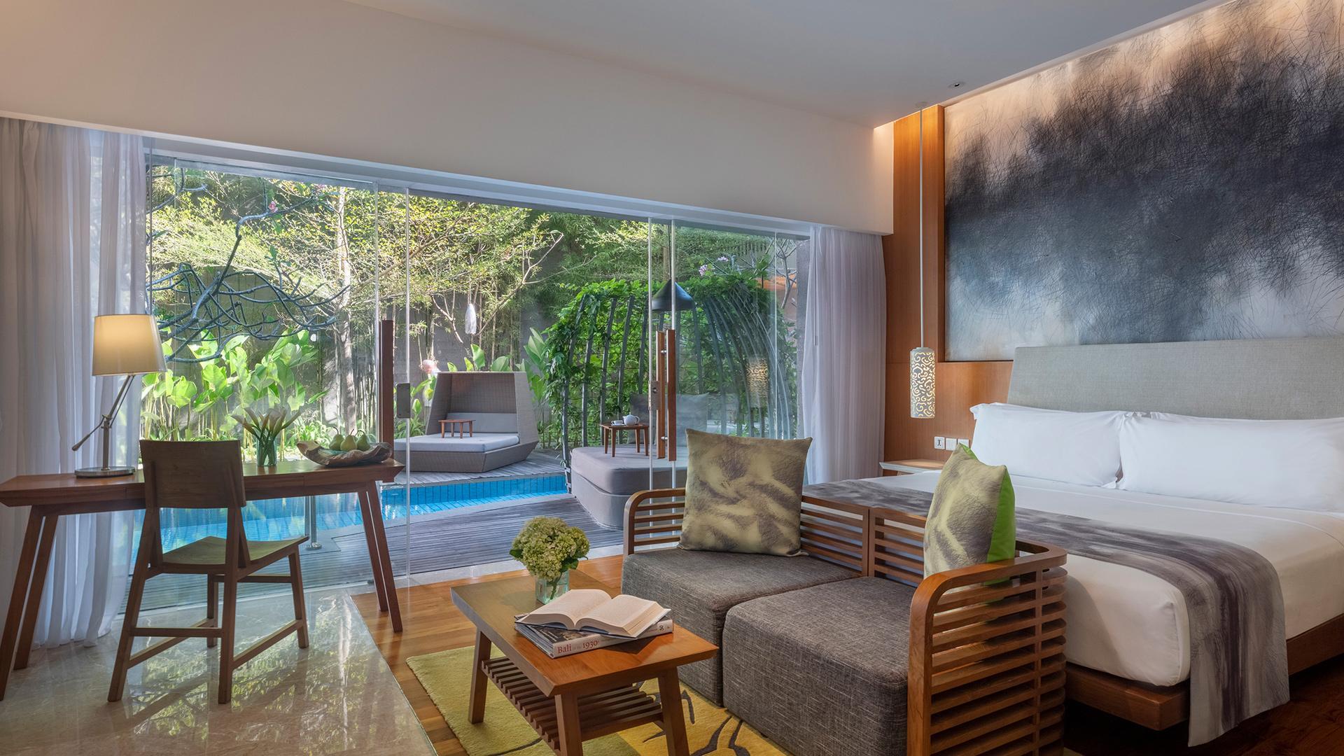 Impressive Lagoon Pool Suite image 1 at Maya Sanur Resort & Spa by Kota Denpasar, Bali, Indonesia