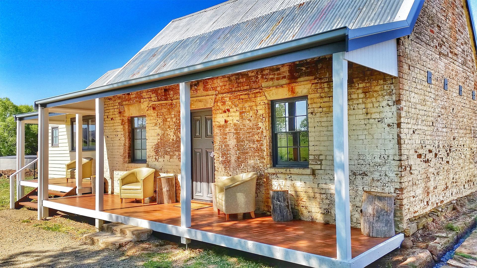 Premium Two-Bedroom Cottage image 1 at Ratho Farm by Central Highlands Council, Tasmania, Australia