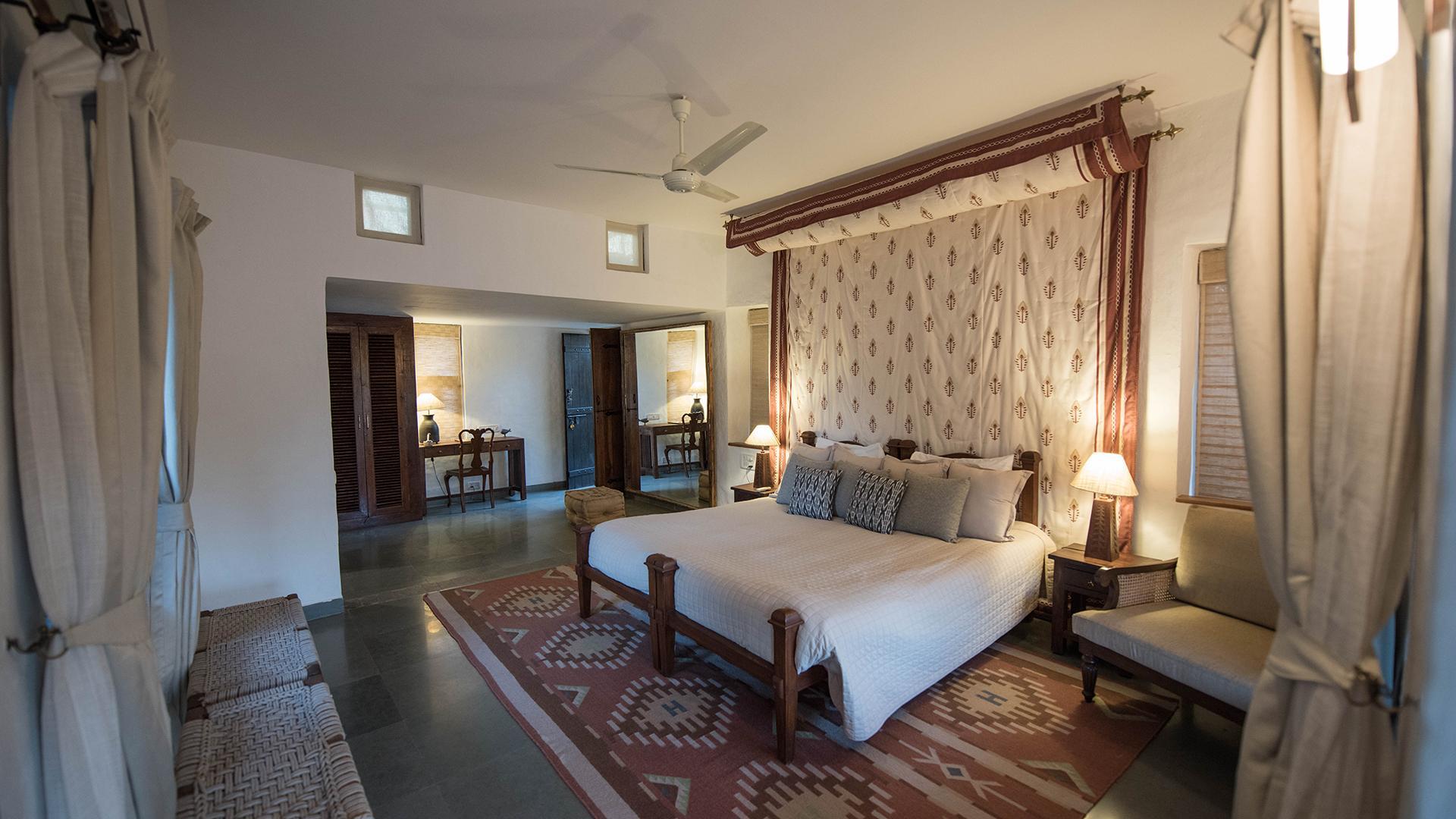 AC Cottage Room image 1 at Forsyth Lodge by Hoshangabad, Madhya Pradesh, India