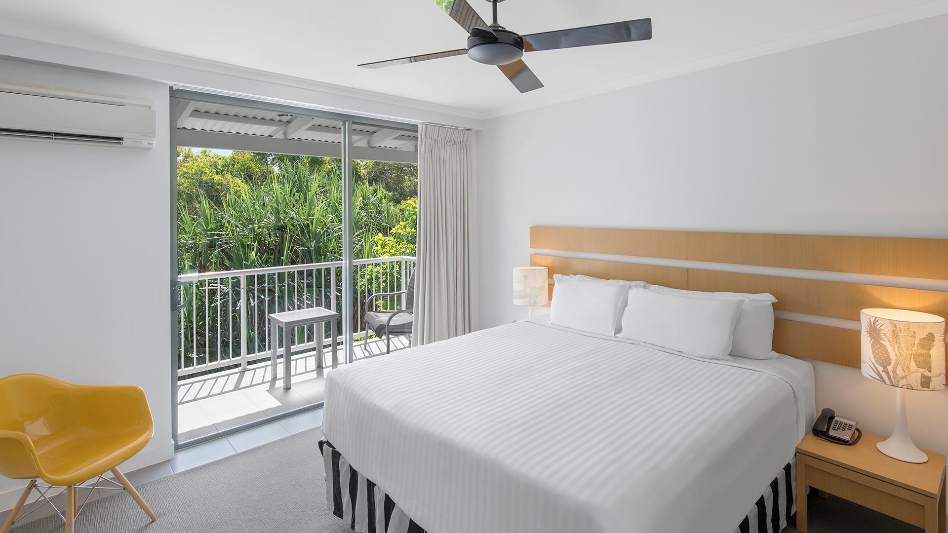 Hotel Room Garden View image 1 at Oaks Port Douglas Resort Feb 2021 by Douglas Shire, Queensland, Australia