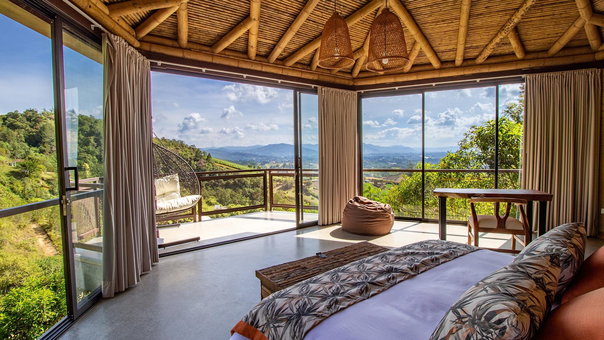 Cabaña image 1 at Cannúa Lodge by Marinilla, Antioquia, Colombia