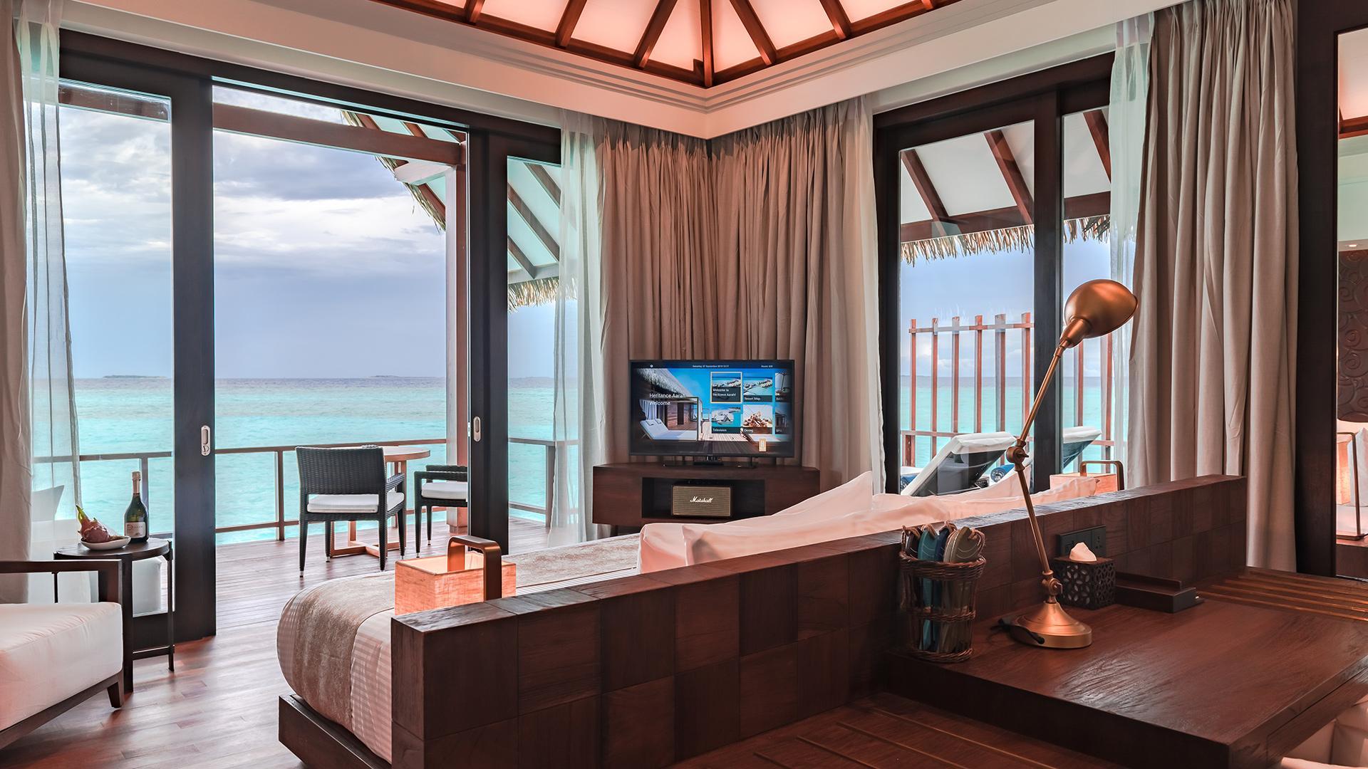 Ocean Villa Sunrise image 1 at Heritance Aarah by null, North Province, Maldives