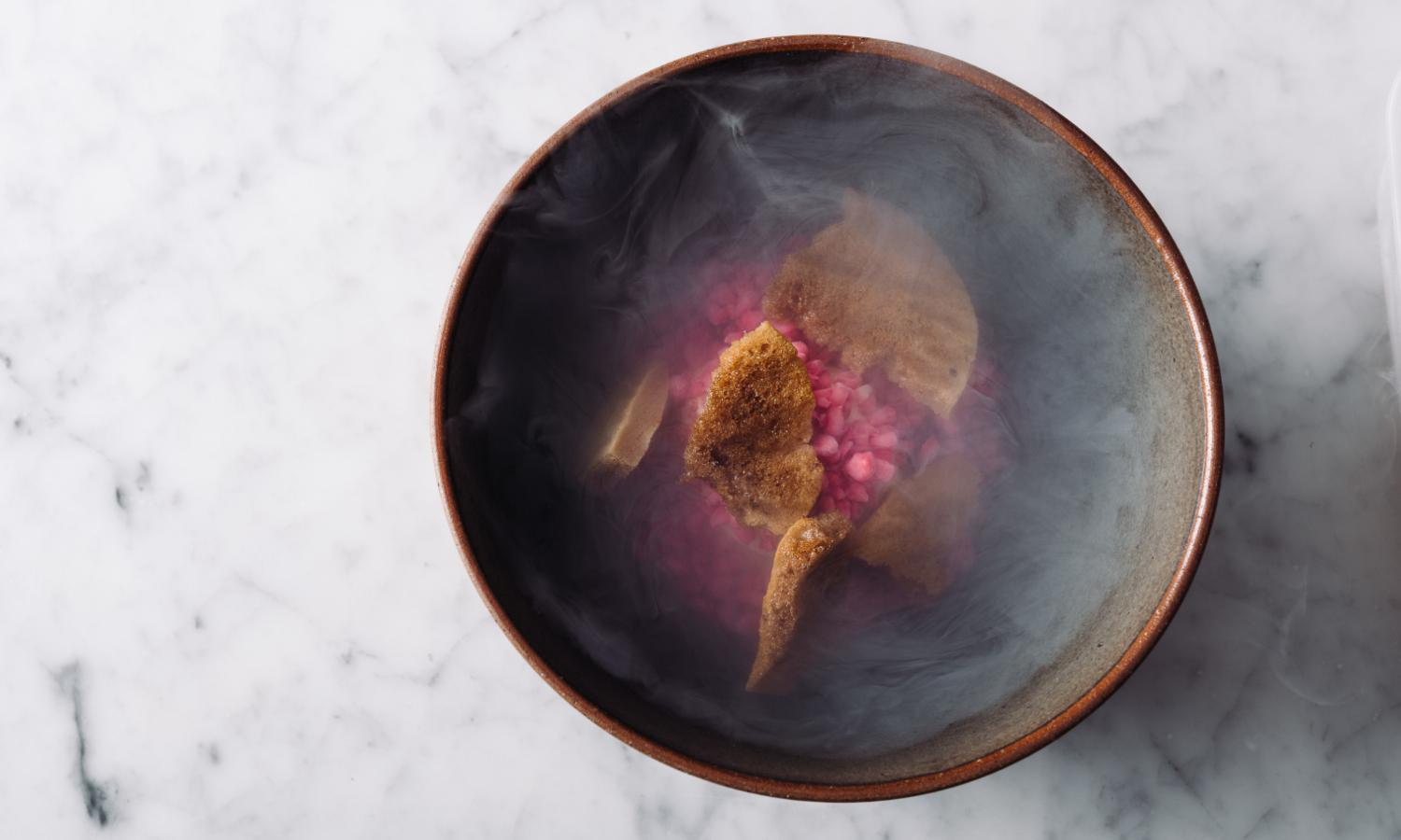 Jaggery with beetroot raspberry coffee