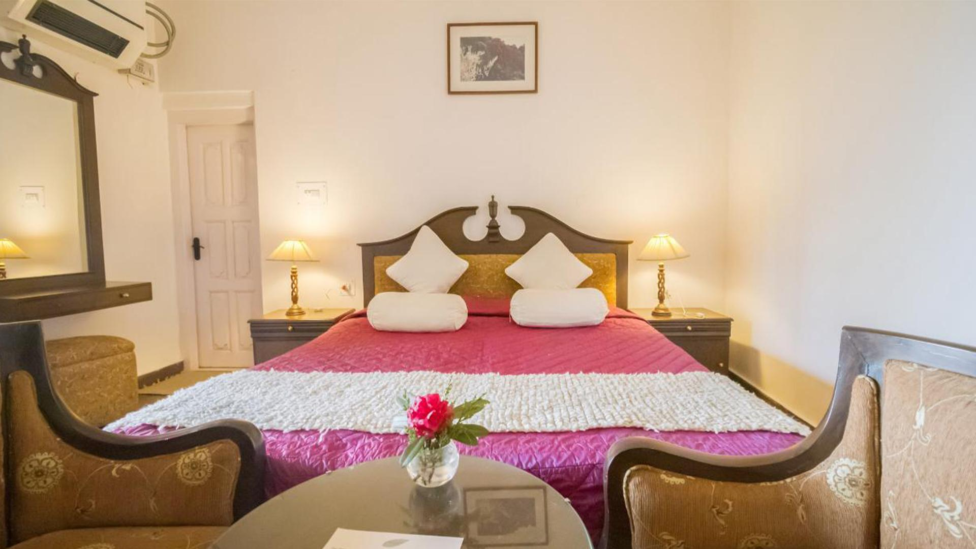 Valley View Hideaway Room image 1 at Tree of Life Grand Oak Manor, Binsar by null, Uttarakhand, India