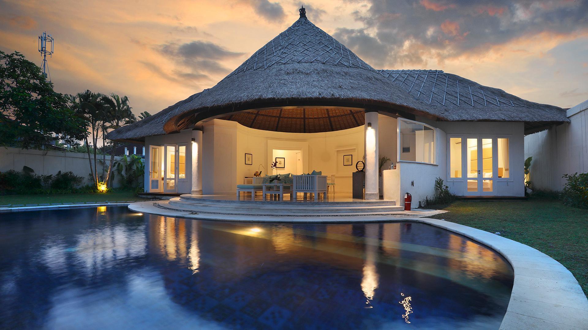 Three Bedroom Pool Villa image 1 at Alam Boutique Resort 2019 by Kabupaten Badung, Bali, Indonesia