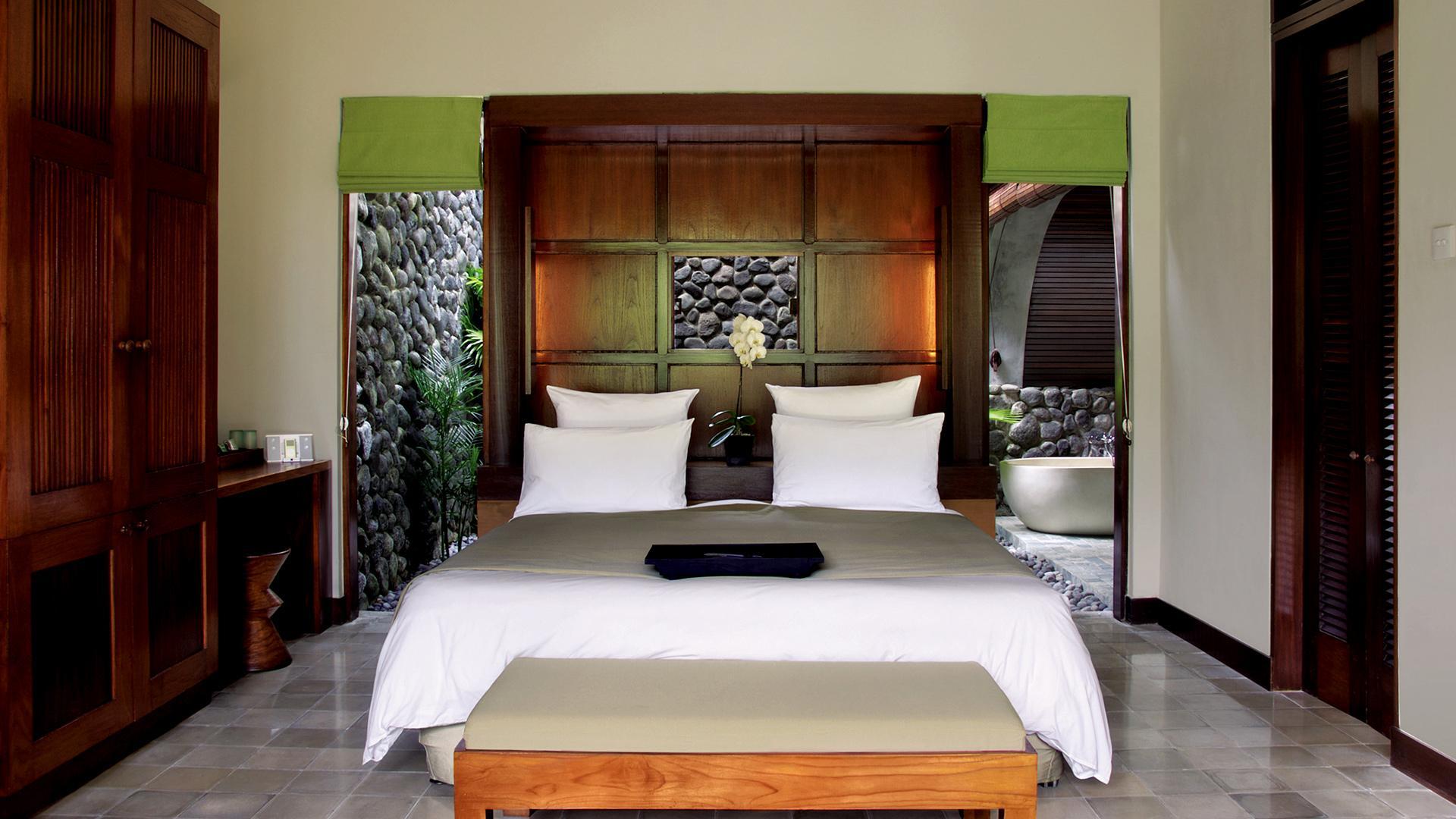 Deluxe Room image 1 at Alila Ubud by Kabupaten Gianyar, Bali, Indonesia