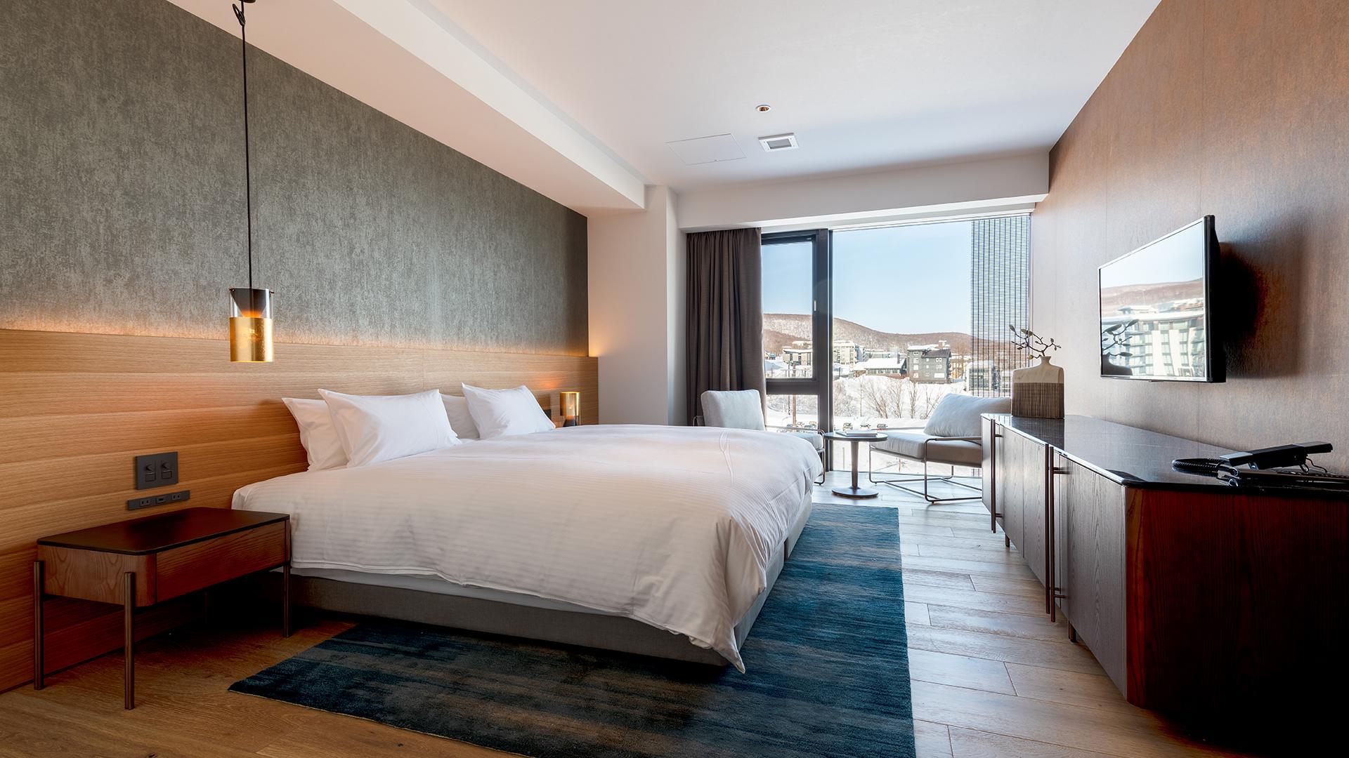 Resort Hotel Room image 1 at Intuition Niseko by Abuta District, Hokkaido, Japan