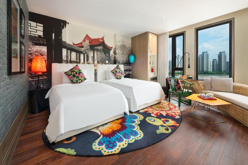 image 1 at Hotel Indigo Shanghai on The Bund, an IHG Hotel by No 585 Zhongshan Dong Er Road Huangpu Area Shanghai Shanghai 200010 China